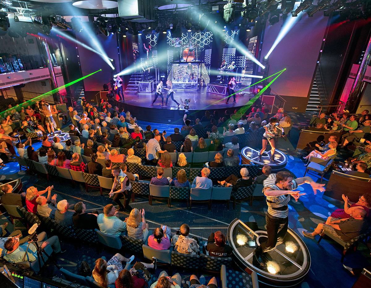 New Carnival Vista Offers Huge Array Of Entertainment, Thrill Features And New Activities