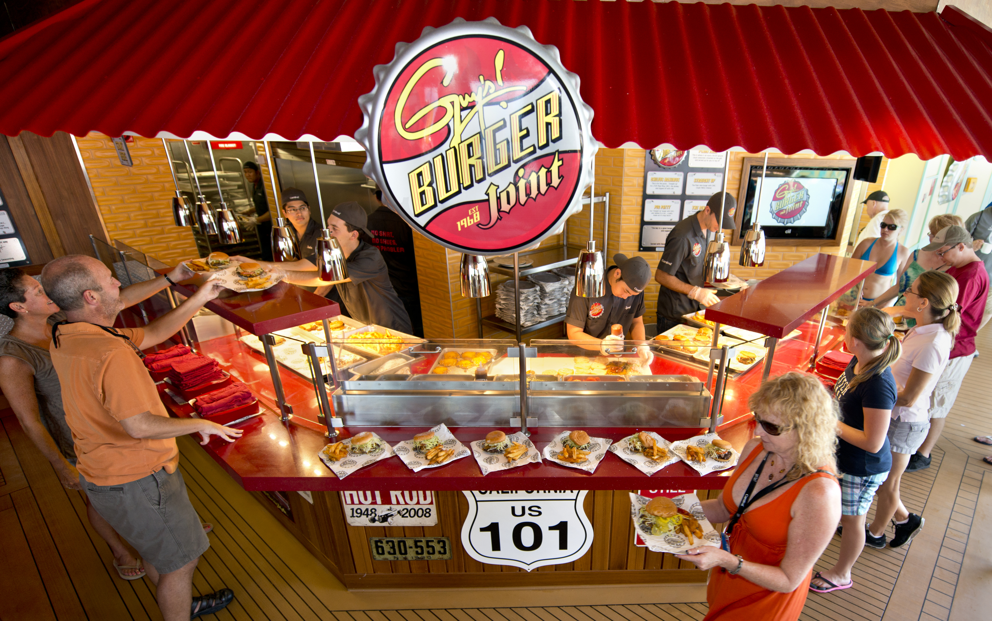 Celebrate National Hamburger Day with a Tasty Recipe from Guy's Burger Joints, Developed in Tandem by Food Network Star Guy Fieri and Carnival Cruise Line
