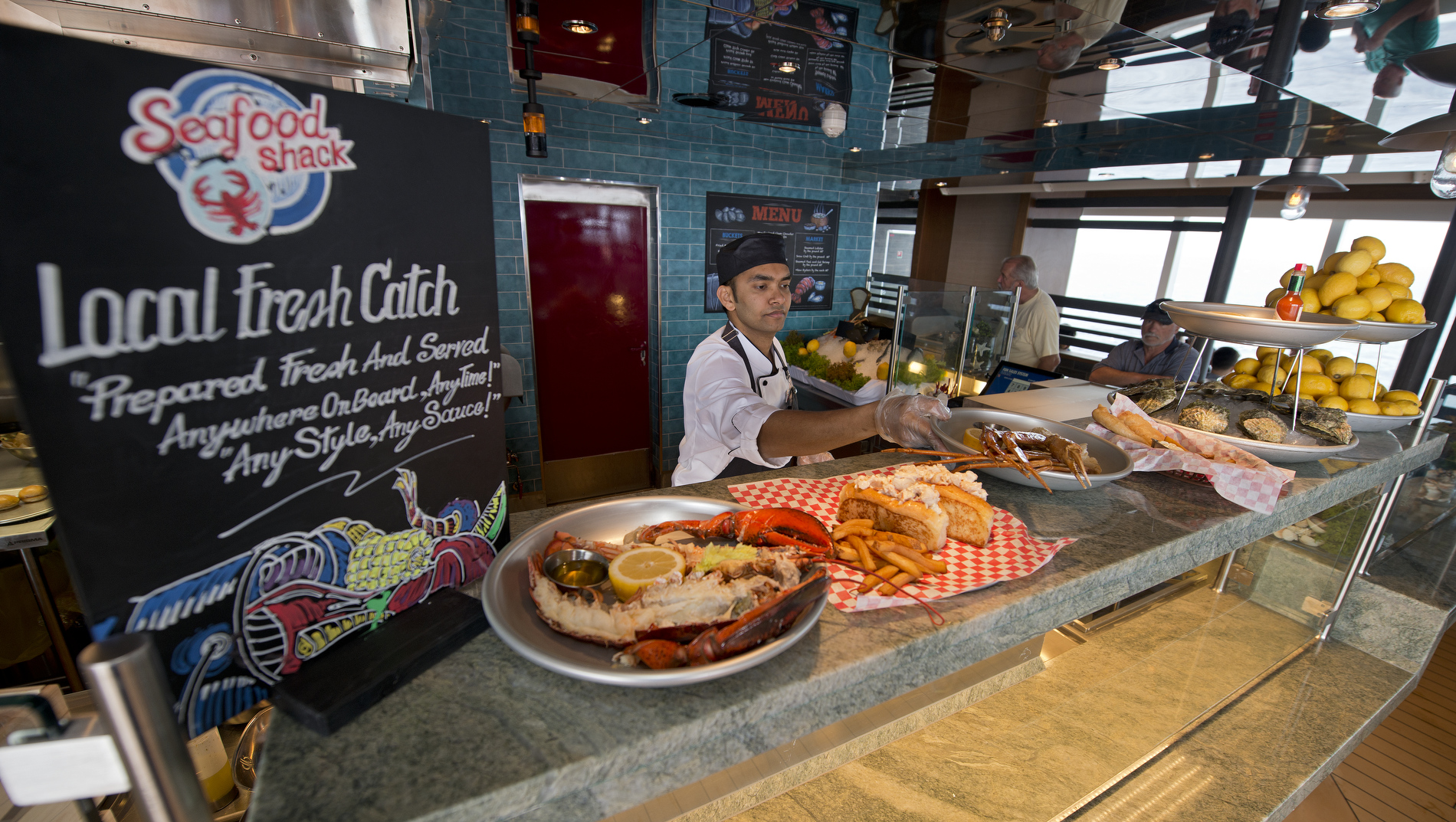 Carnival Vista Offers Nearly 30 Dining and Bar Venues Showcasing Diverse Flavors from Around the World