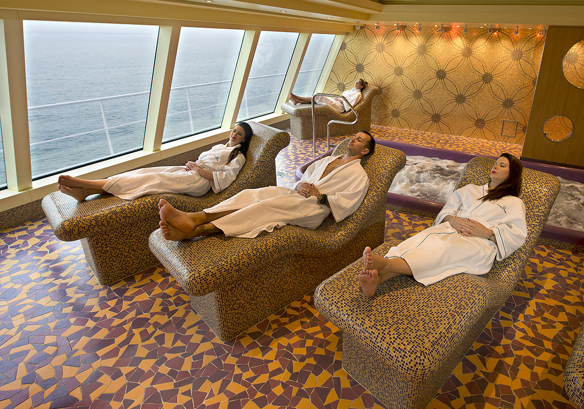 Carnival Vista's Two-Deck Cloud 9 Spa: A Seagoing Oasis Of Tranquility And Relaxation