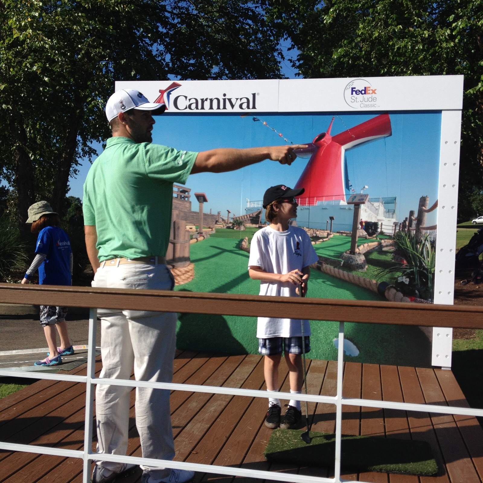 Carnival Cruise Line Brings Its Signature Brand of Fun to the FedEx St. Jude Classic Golf Tournament
