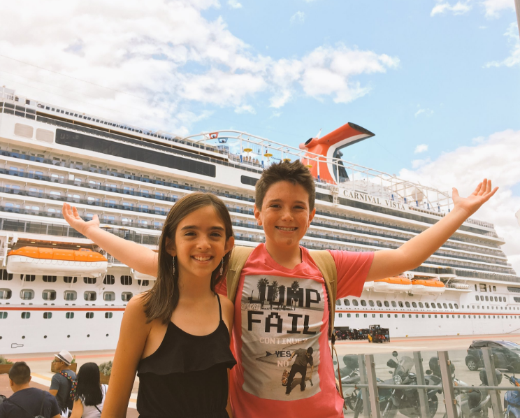 Antics of Fun Loving Eh Bee Family's Recent Carnival Cruise Captured in New Video Series
