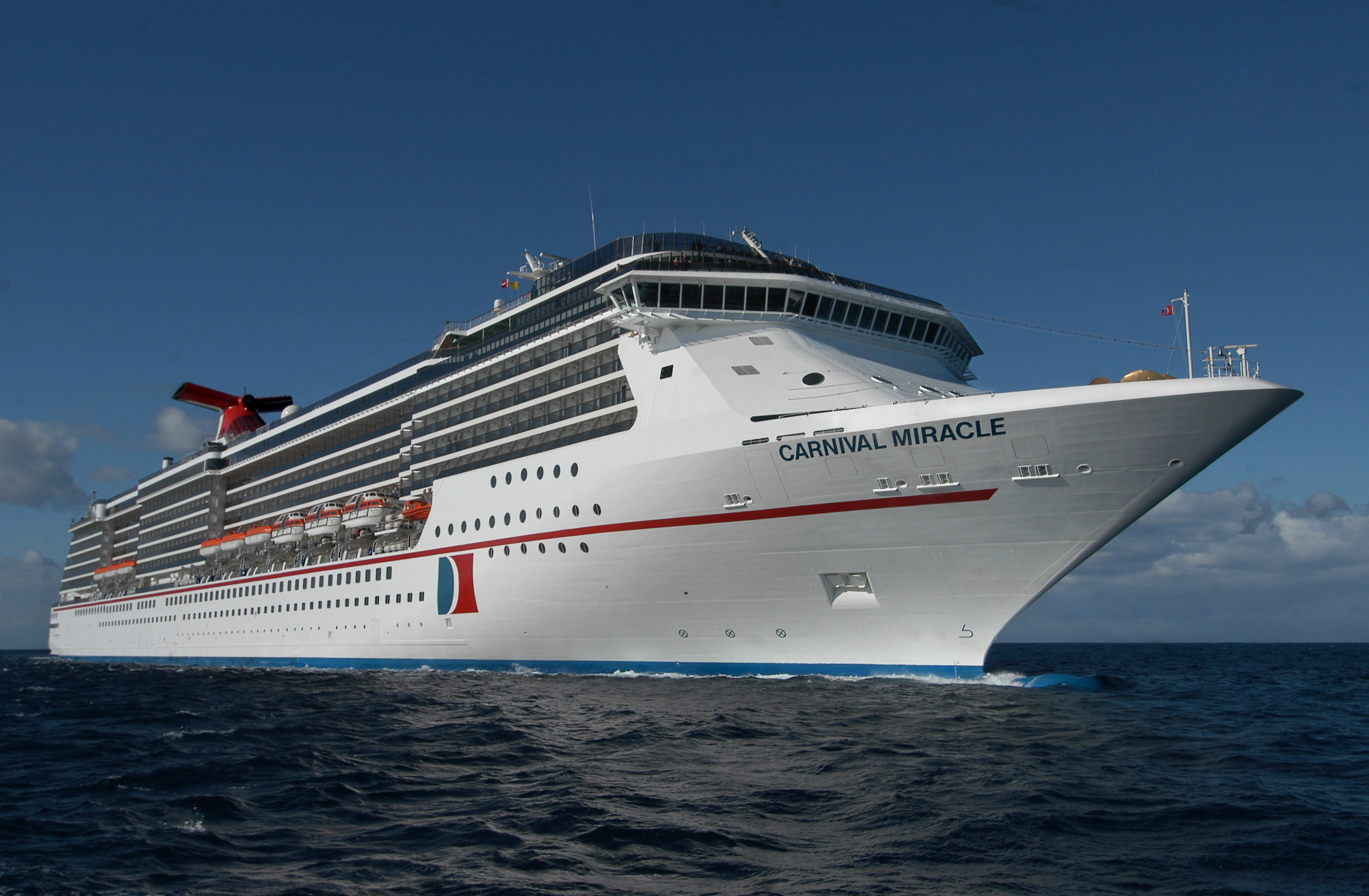 Carnival Miracle to Operate Unique 14-Day Alaska Cruise Round-Trip from Long Beach in September 2017