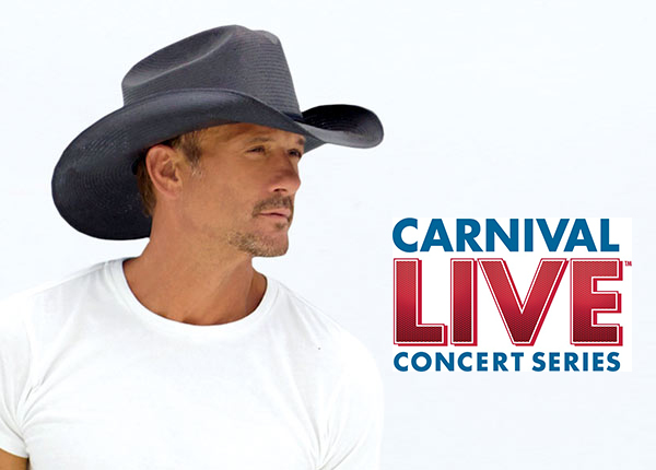 Country Music Stars Tim McGraw and Little Big Town, Comedians Jay Leno and Jeff Foxworthy Featured in Carnival Live's 2017 Lineup