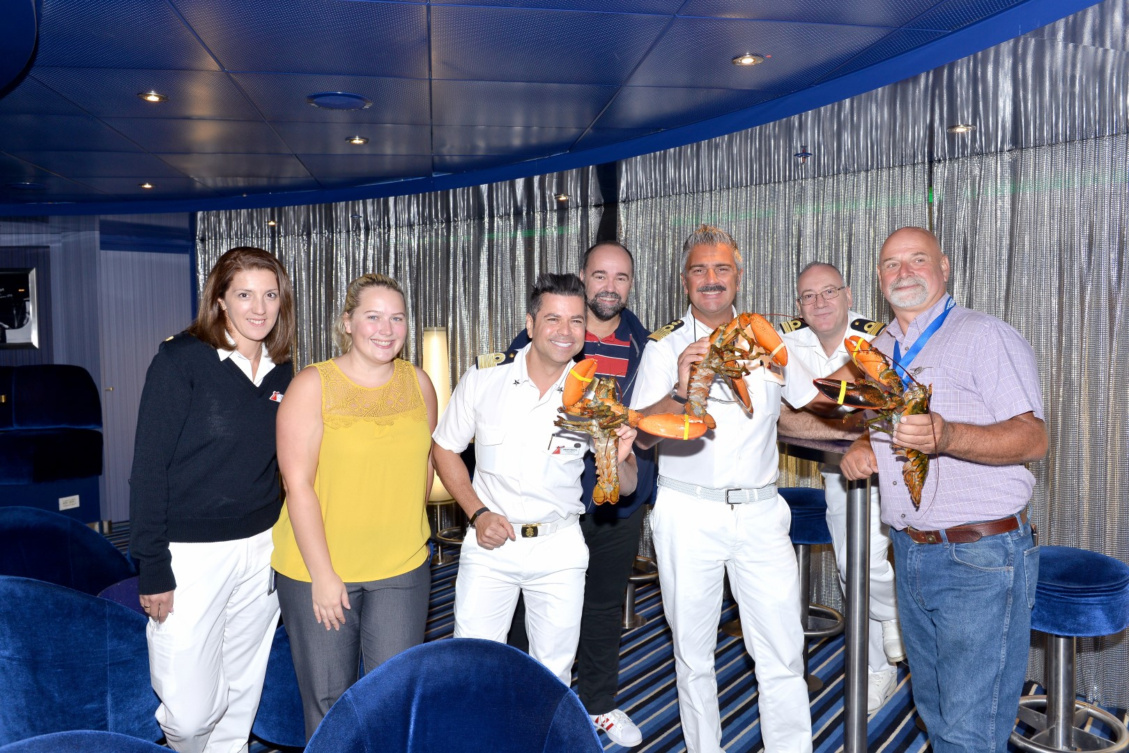 Traditional Maritime Plaque (And Lobster?) Exchange  Marks Carnival Sunshine's Inaugural Call at Portland, Maine