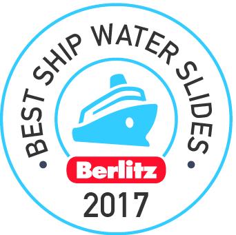 Carnival Vista's Kaleid-o-slide Named Among Best Splash-Tastic Water Slides by Berlitz Cruising and Cruise Ship Guide