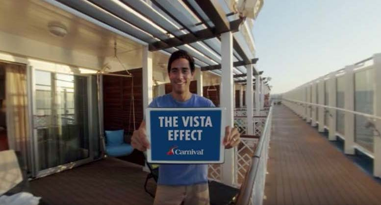 Carnival Vista Showcased Through Groundbreaking 360-Degree Videos
