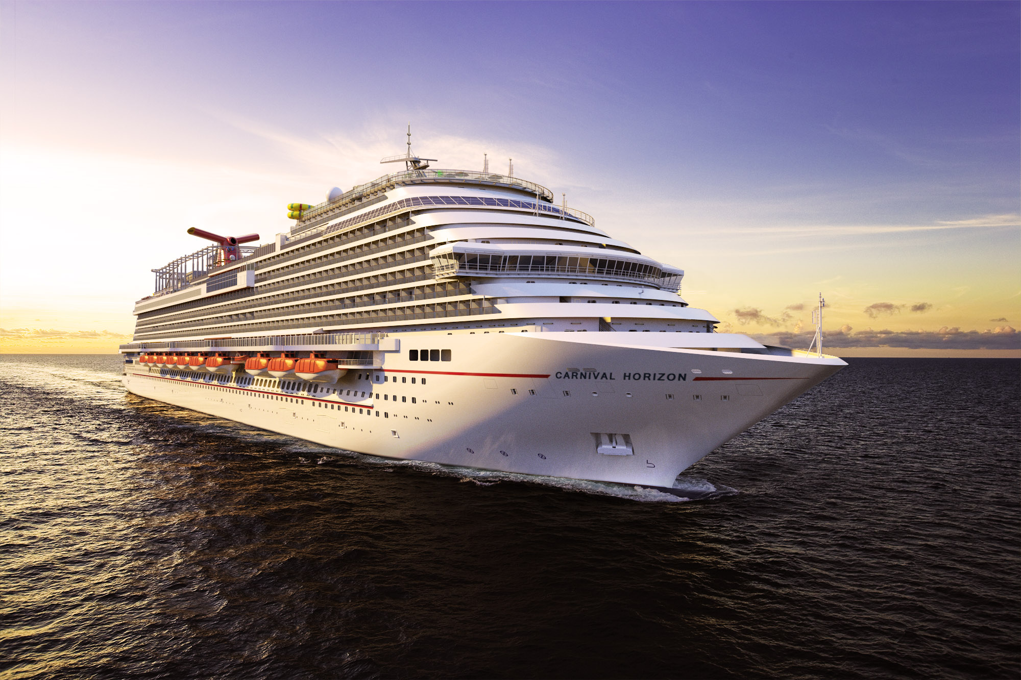Carnival Horizon to Debut with a Series of European Voyages in 2018 Followed by Caribbean Itineraries from New York and Miami