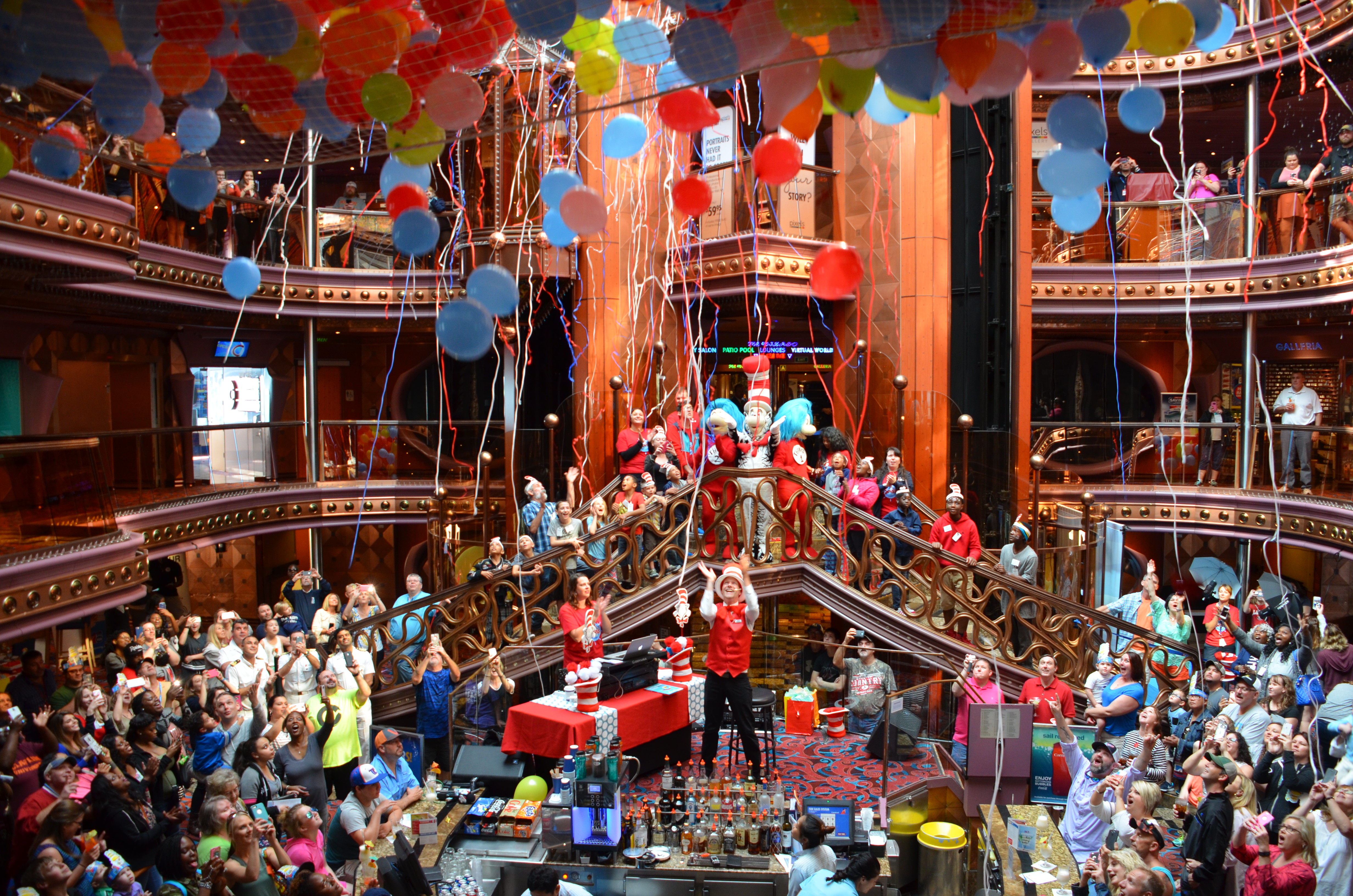 Dr. Seuss' Birthday Celebrated with Fun Family-Friendly Event Aboard Carnival Elation in Jacksonville