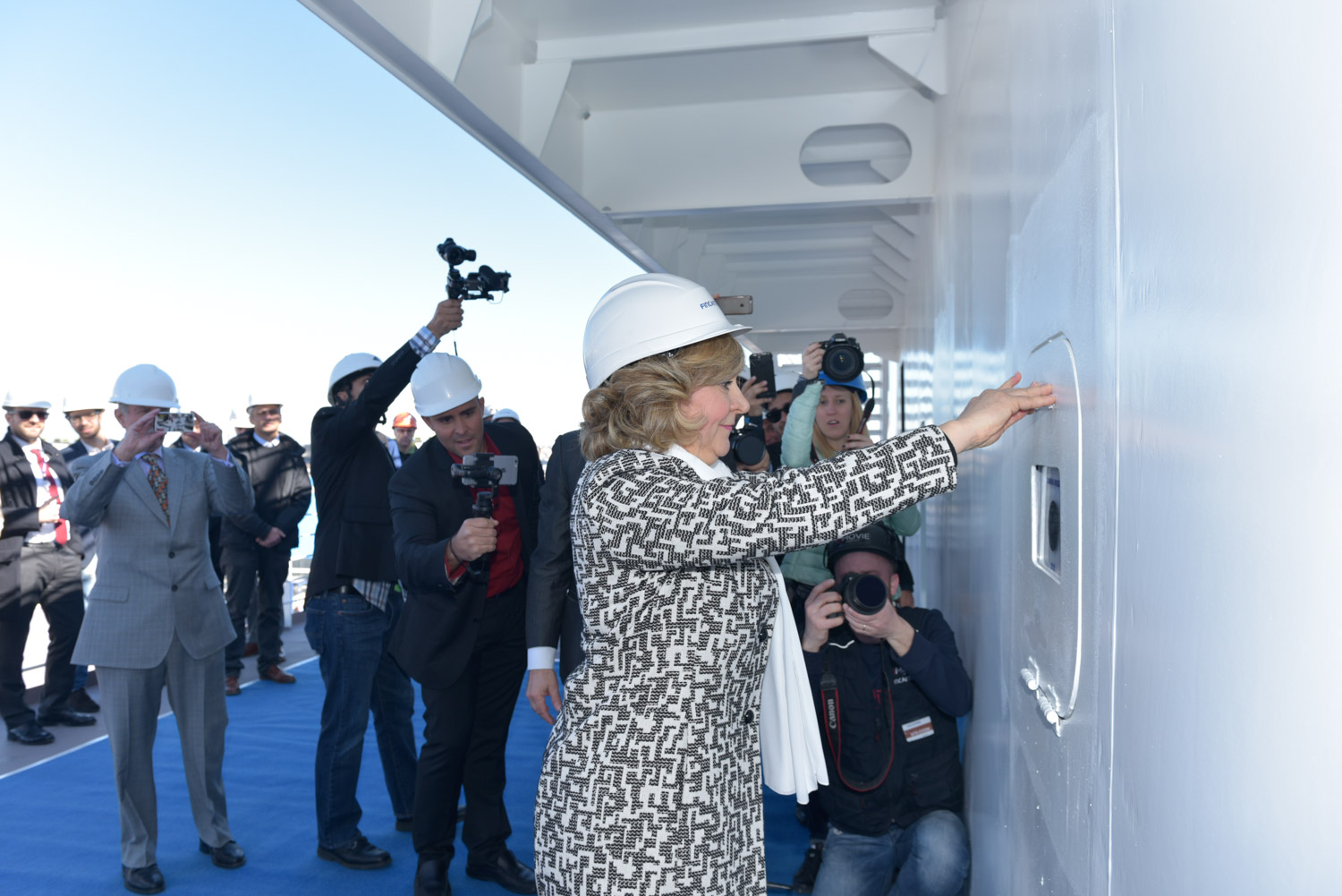 Significant Milestone In Carnival Horizon's Construction Commemorated With Traditional Maritime Coin Ceremony