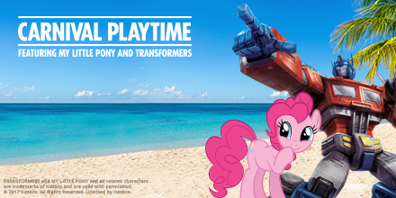First-Ever 'Carnival Playtime' Event Featuring My Little Pony and Transformers-Inspired Activities to Take Place Aboard Carnival Imagination This Summer