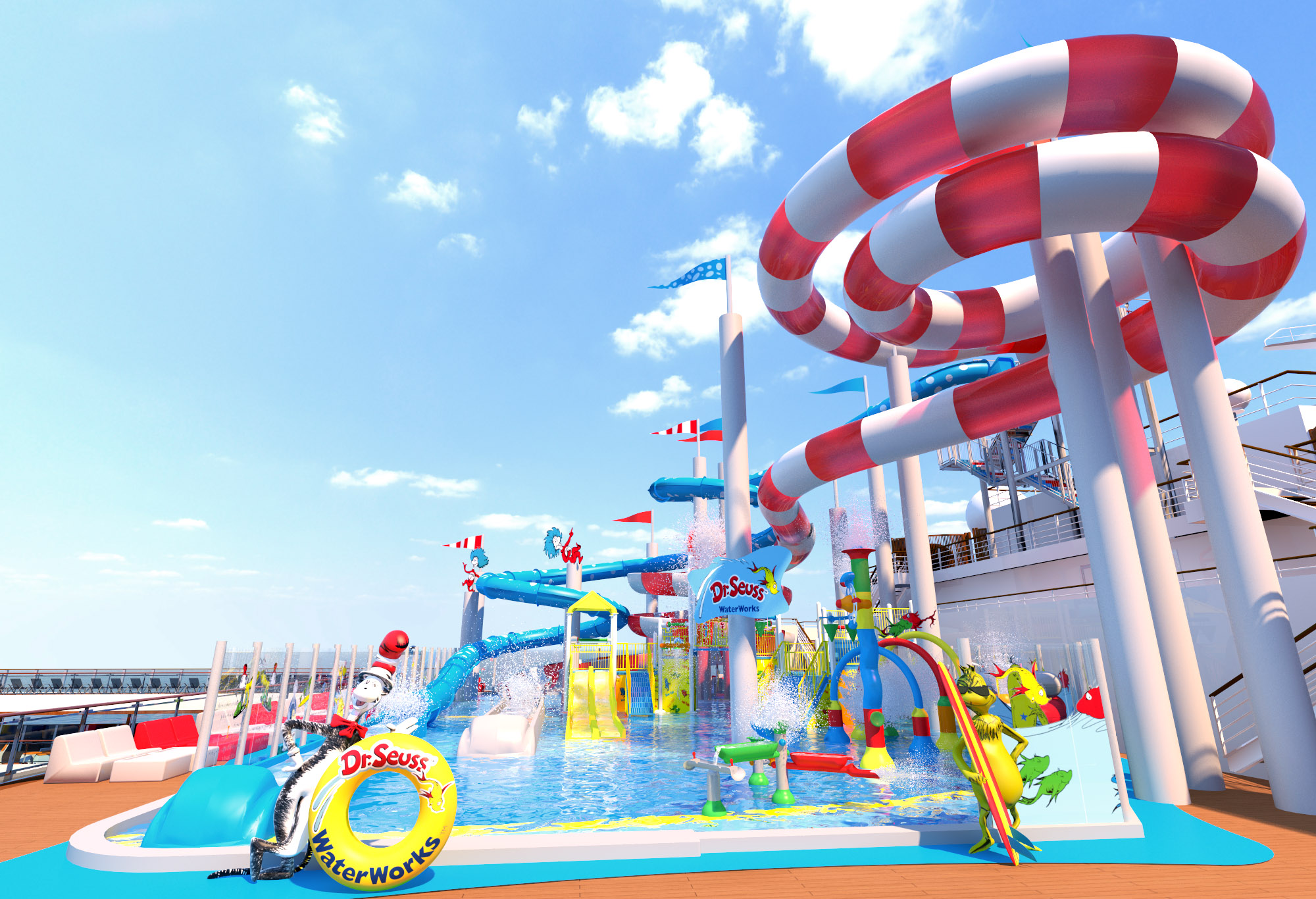 Colorful Dr. Seuss WaterWorks Park to Be Featured On New ...