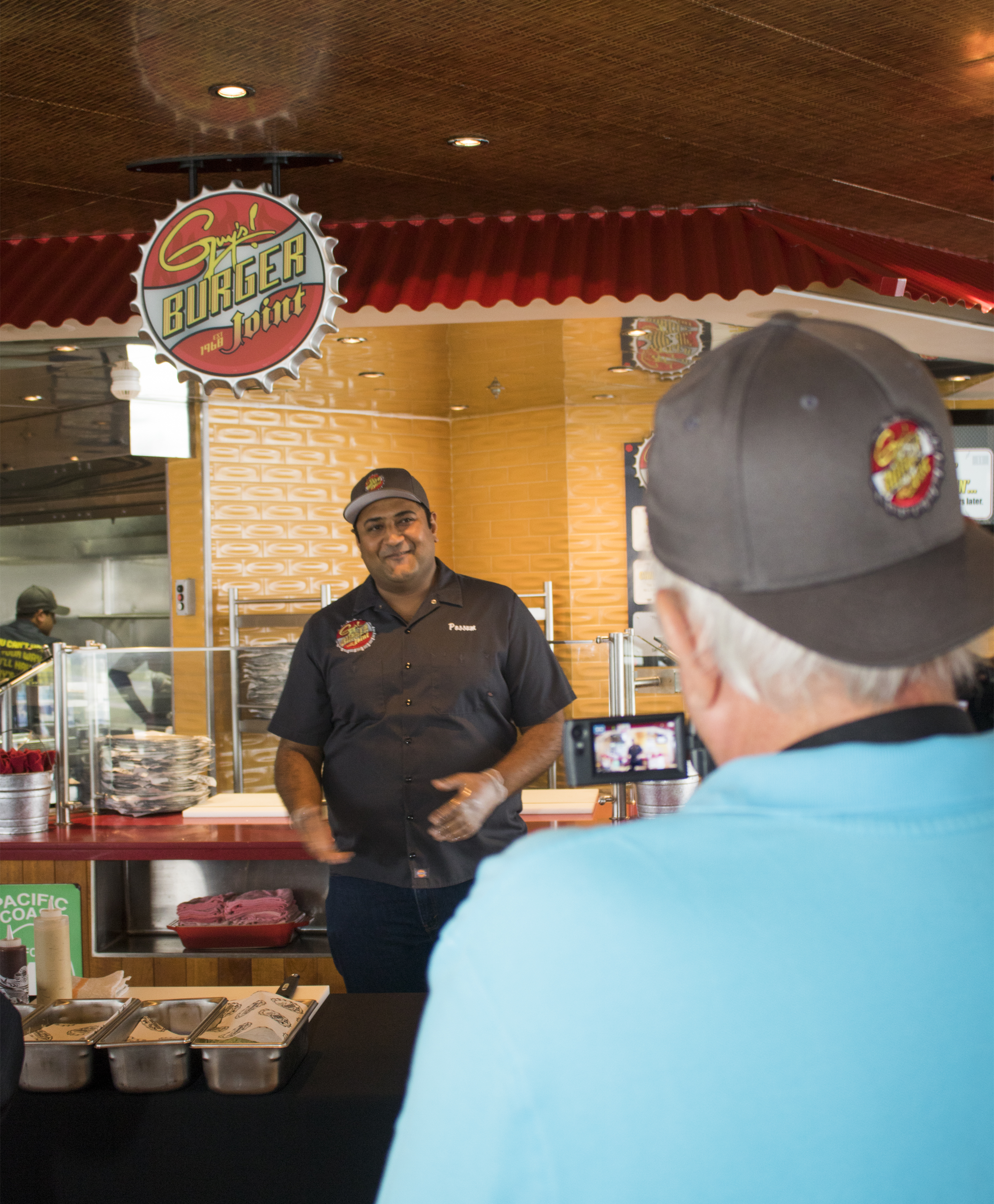 Carnival Cruise Line Celebrates National Hamburger Day by Creating Largest Hamburger at Sea, Hosting Burger-Making Workshop for Local Media in Port Canaveral