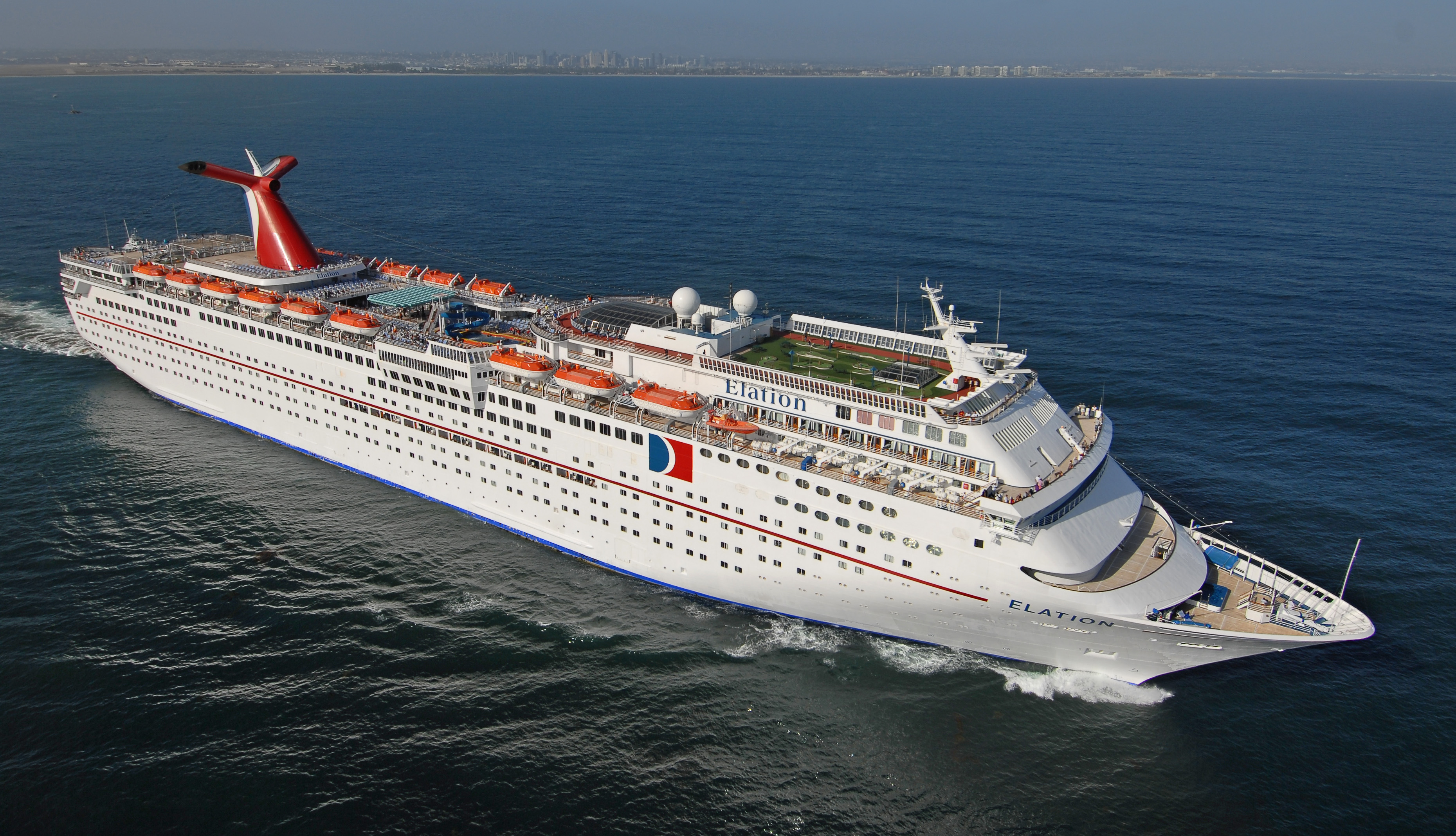 Carnival Elation To Operate Unique Eight Day Cruise From