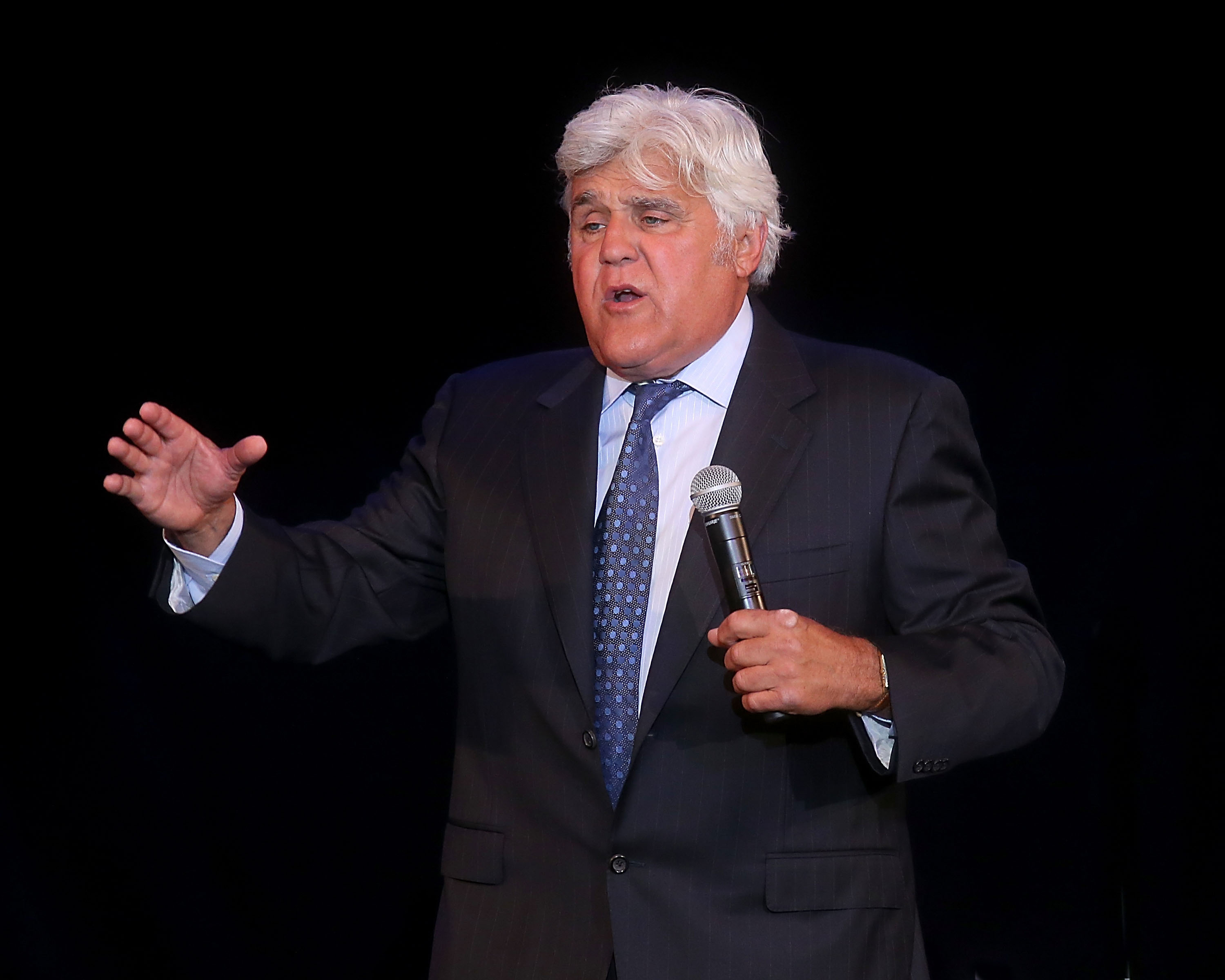 Jay Leno Leaves 'em Laughing Aboard Carnival Vista and Carnival Victory