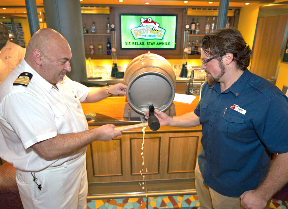 Carnival Cruise Line Celebrates American Craft Beer Week with New Miami Guava Wheat Beer Brewed Exclusively on Carnival Vista