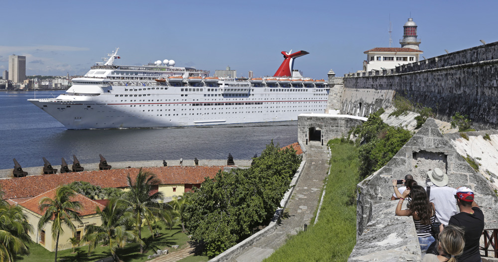 Carnival Paradise Arrives In Havana to Inaugurate Carnival Cruise Line's First-Ever Voyage to Cuba