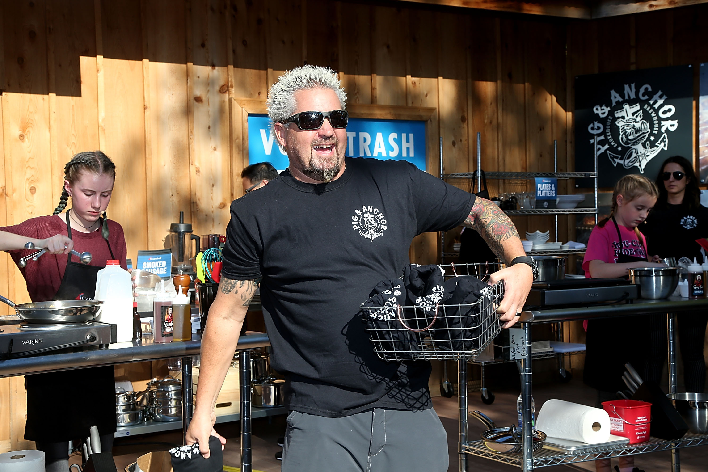 Kids from Texas 4H Club Awarded Free Cruises As Part of Fun Event Hosted by Guy Fieri Announcing New Smokehouse Brewhouse BBQ Restaurant Aboard Carnival Horizon