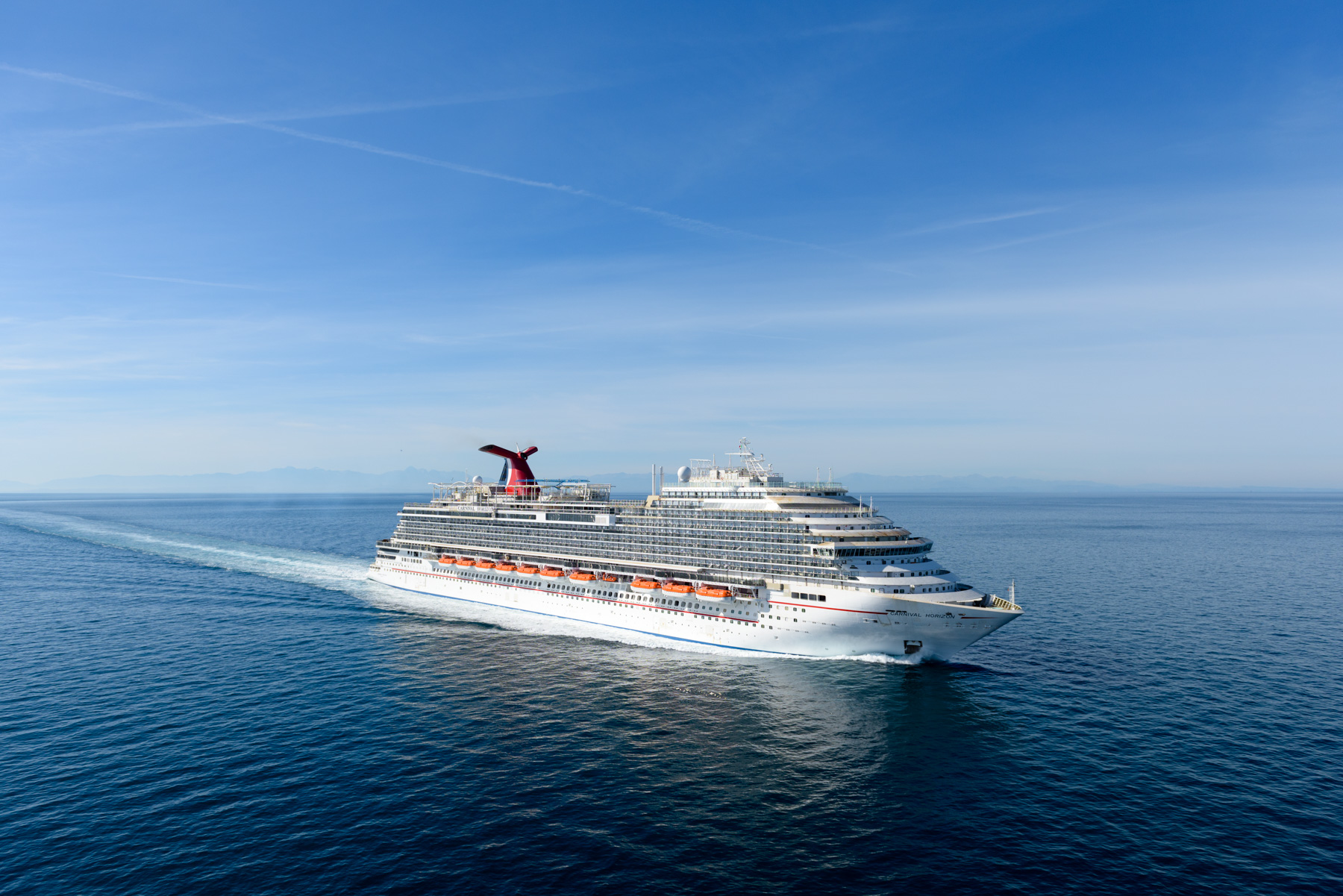 Carnival Horizon Successfully Completes Sea Trials In The