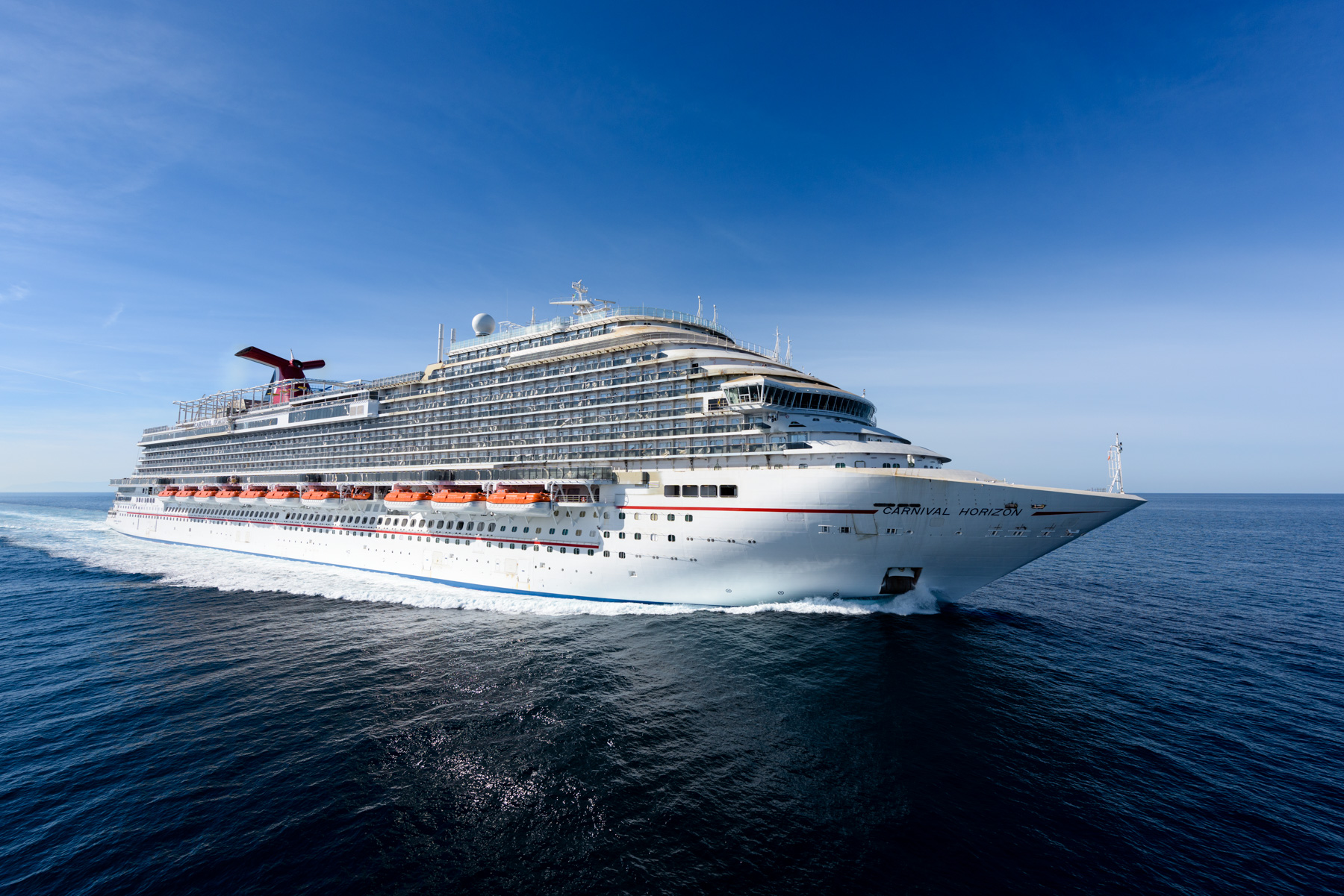 Carnival Horizon Successfully Completes Sea Trials in the Adriatic Sea