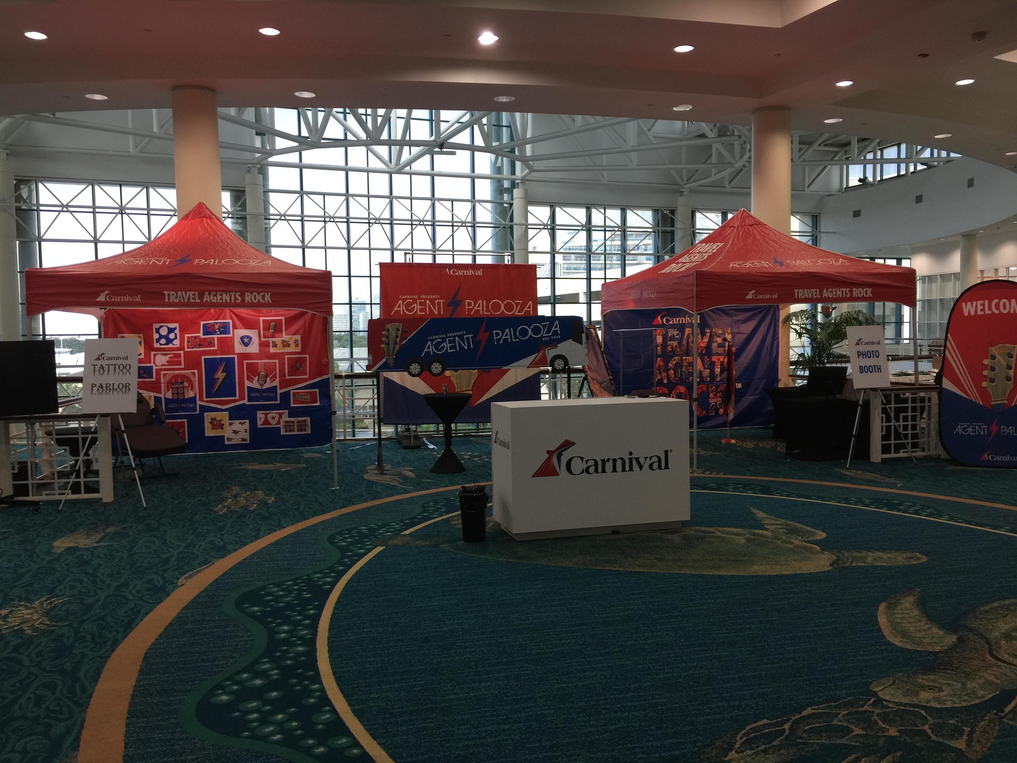 Carnival Cruise Line Brings Agentpalooza Experience to Travel Weekly CruiseWorld
