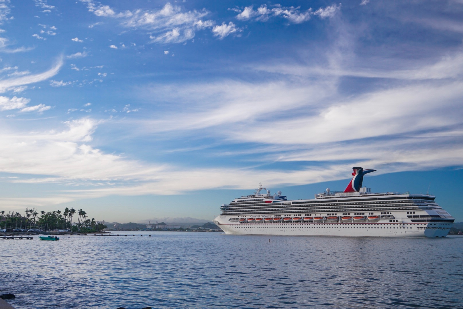 Carnival Cruise Line Returns to San Juan with Arrival of Carnival Conquest Earlier Today