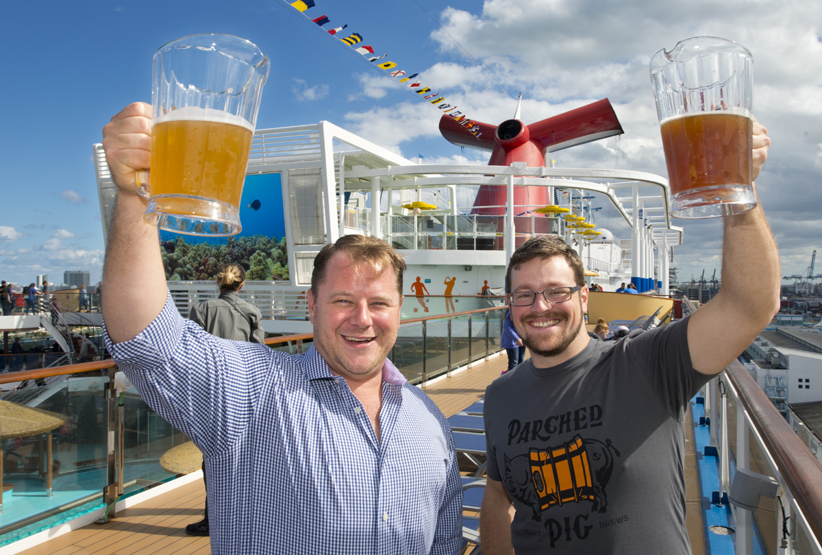 Carnival Cruise Line Announces Four New Craft Beers That Will Debut At Carnival Horizon's Onboard Brewery in April 2018