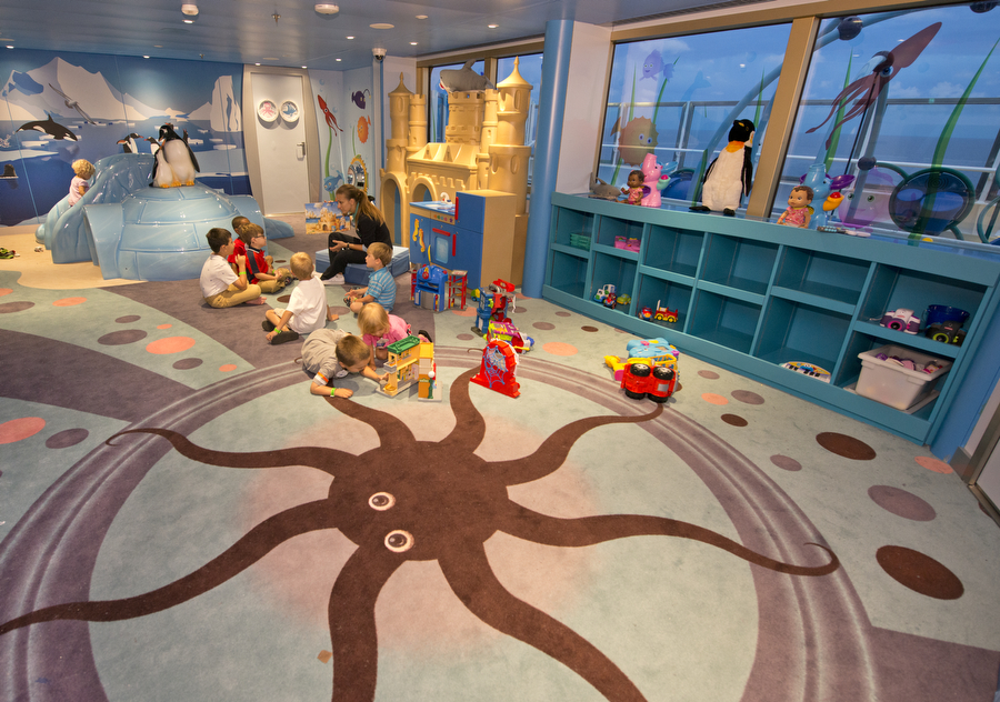 Camp Ocean Marine-Themed Children's Play Areas Now Featured on All 26 Carnival Cruise Line Ships