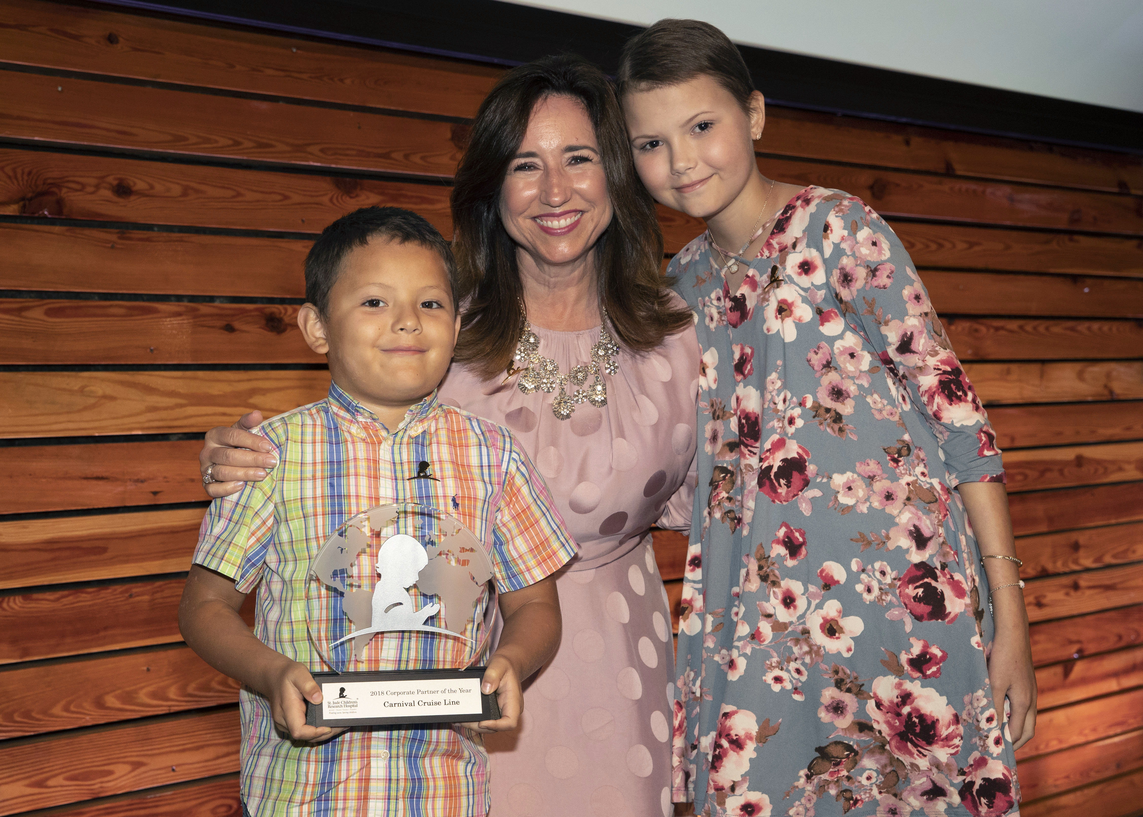 Carnival Cruise Line Named St. Jude Children's Research Hospital's 'Corporate Partner of the Year'