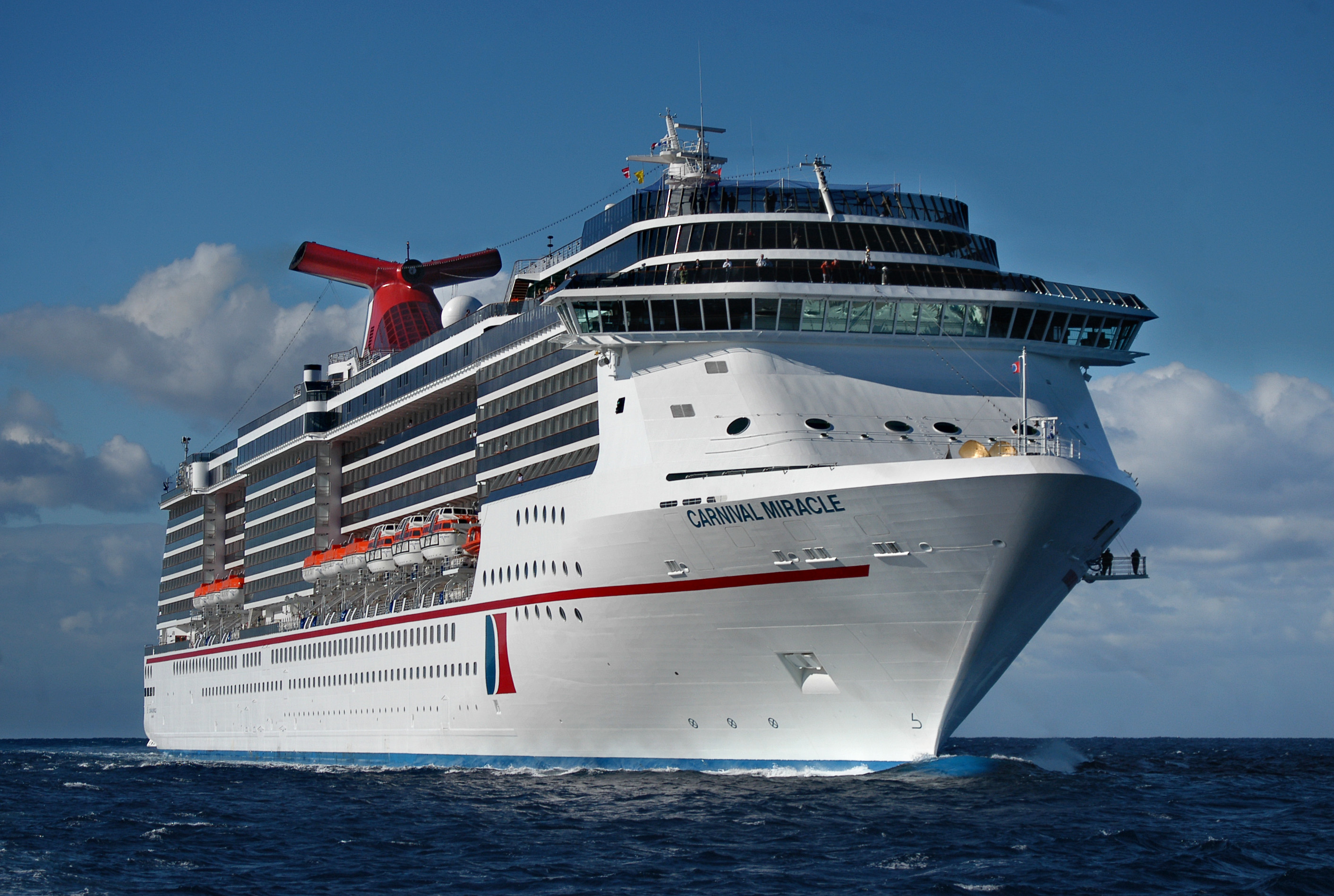 Carnival Cruise Line To Offer Seasonal Program Of Three- to 15-Day Voyages From San Diego Aboard Carnival Miracle