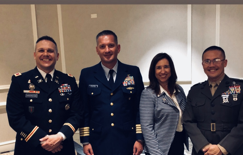 Carnival Cruise Line President Engages with U.S. Service Members During Immersive JCOC Program