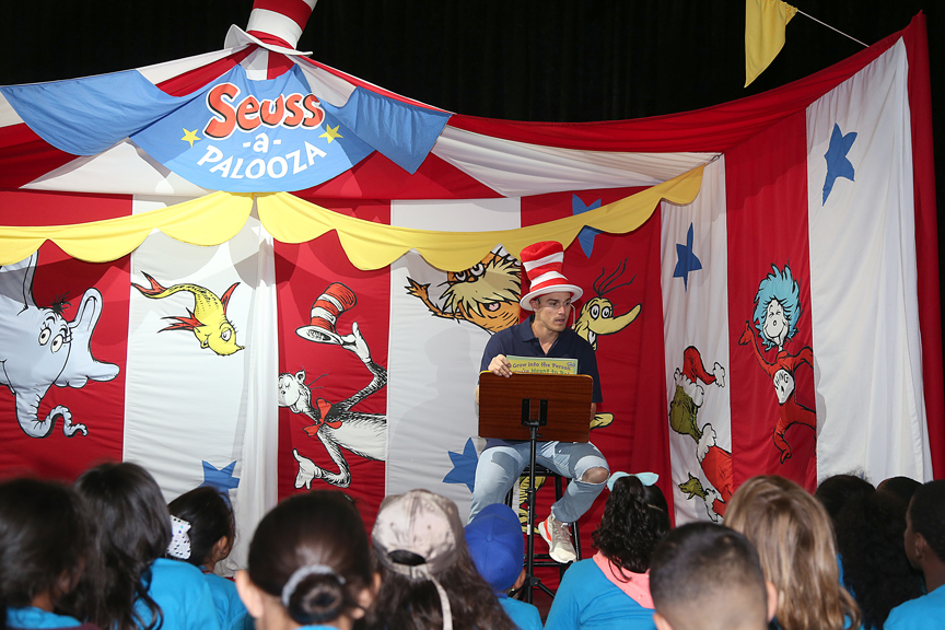 Young Cruisers On Carnival Cruise Line This Summer Read An Astonishing 213 Million Dr. Seuss Words As Part Of Dr. Seuss's Word Challenge Aboard All 26 Ships
