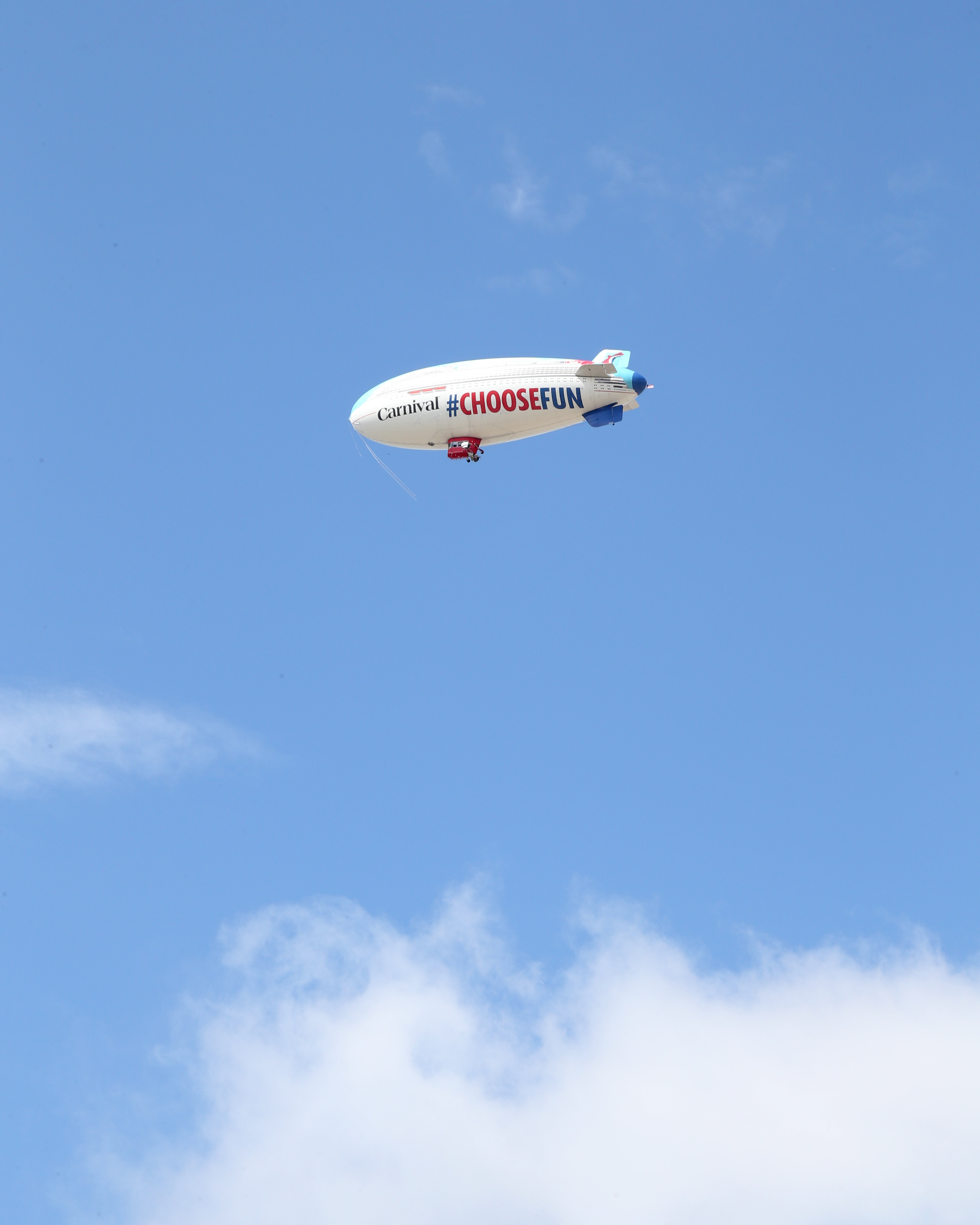 Carnival Cruise Line Takes To The Sky With Innovative 'Homeport Advantage' Campaign Featuring A Massive 128-Foot-Long Carnival Airship Flying Over The Southeast