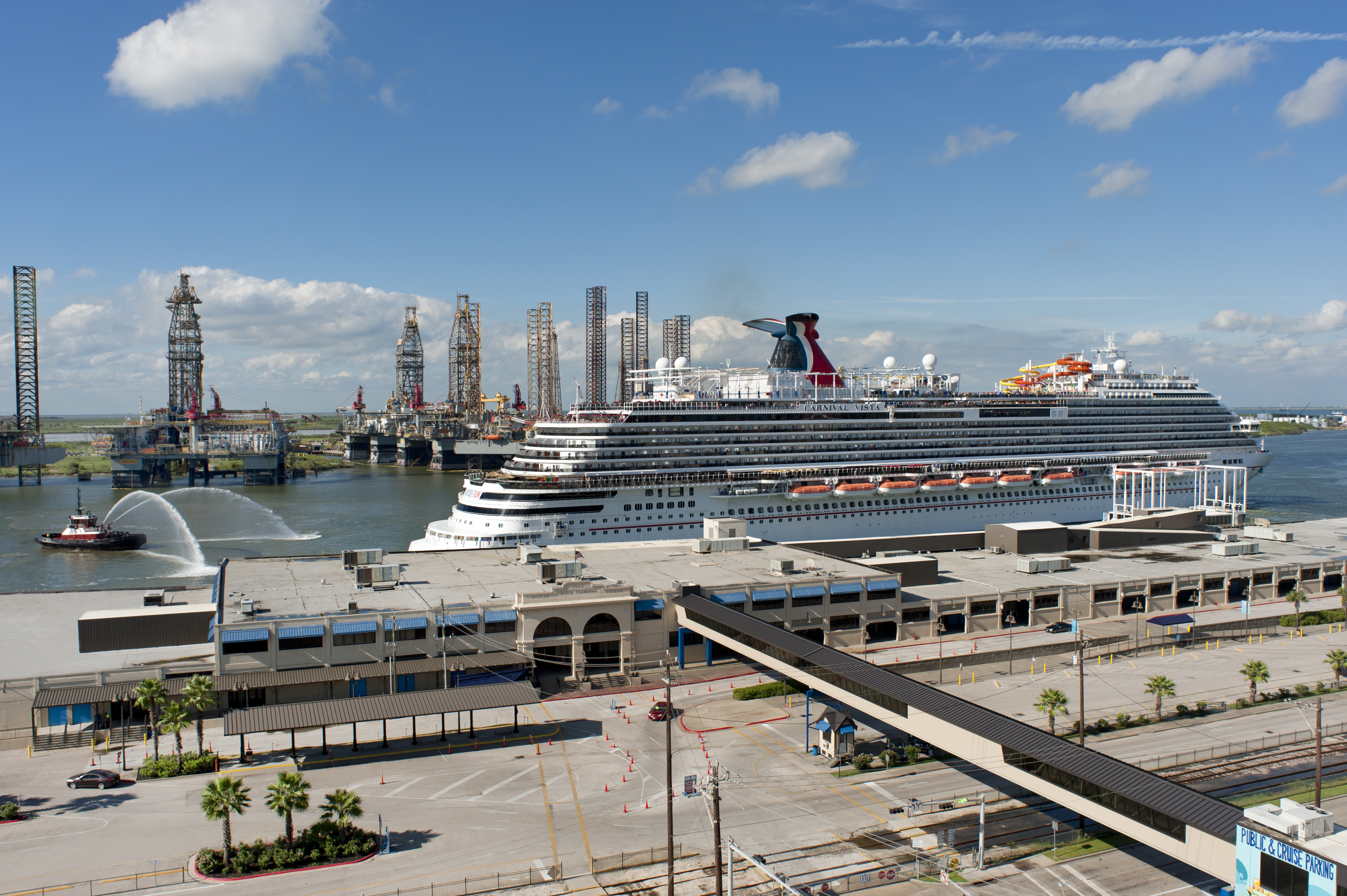 Carnival Vista First Cruise From the Port of Galveston