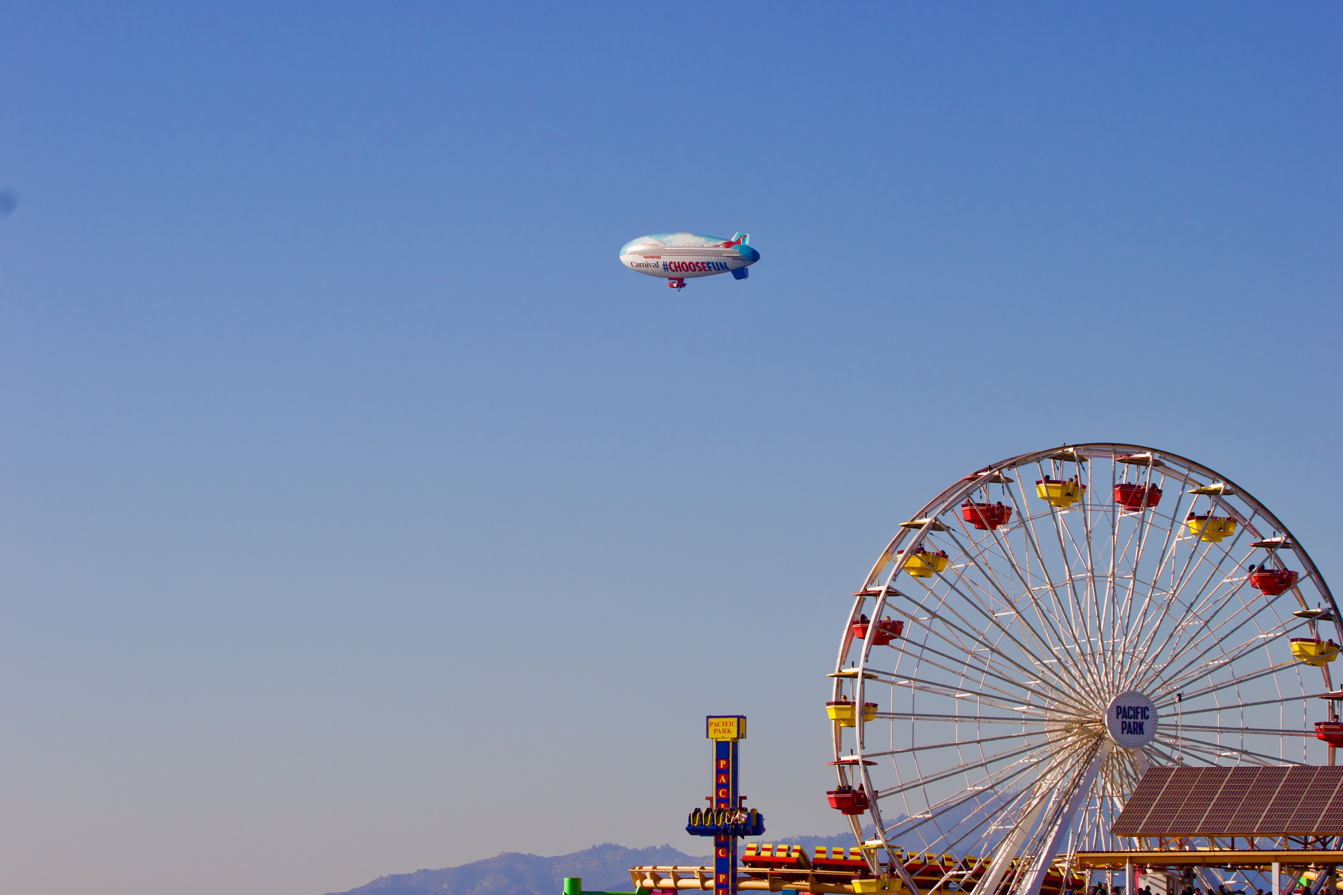 Carnival AirShip Completes First Week Touring Southern California, Flying Above Landmarks, Carnival Ships and More