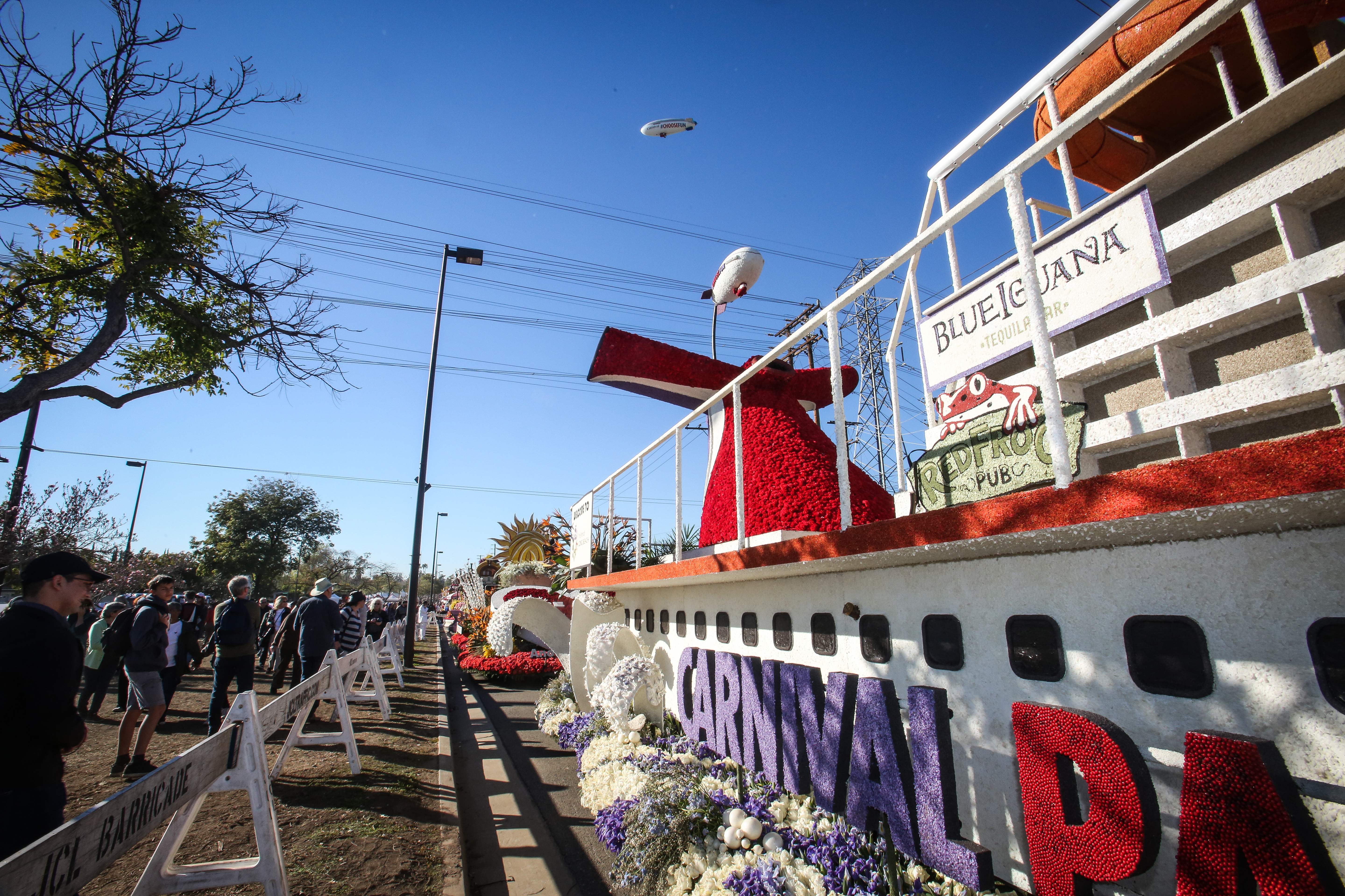 Carnival Cruise AirShip Takes Flight; Kicks Off Month-Long Tour of California