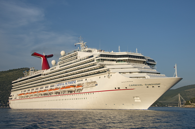 Carnival Sunshine Comes to Aid of Cargo Ship in Distress