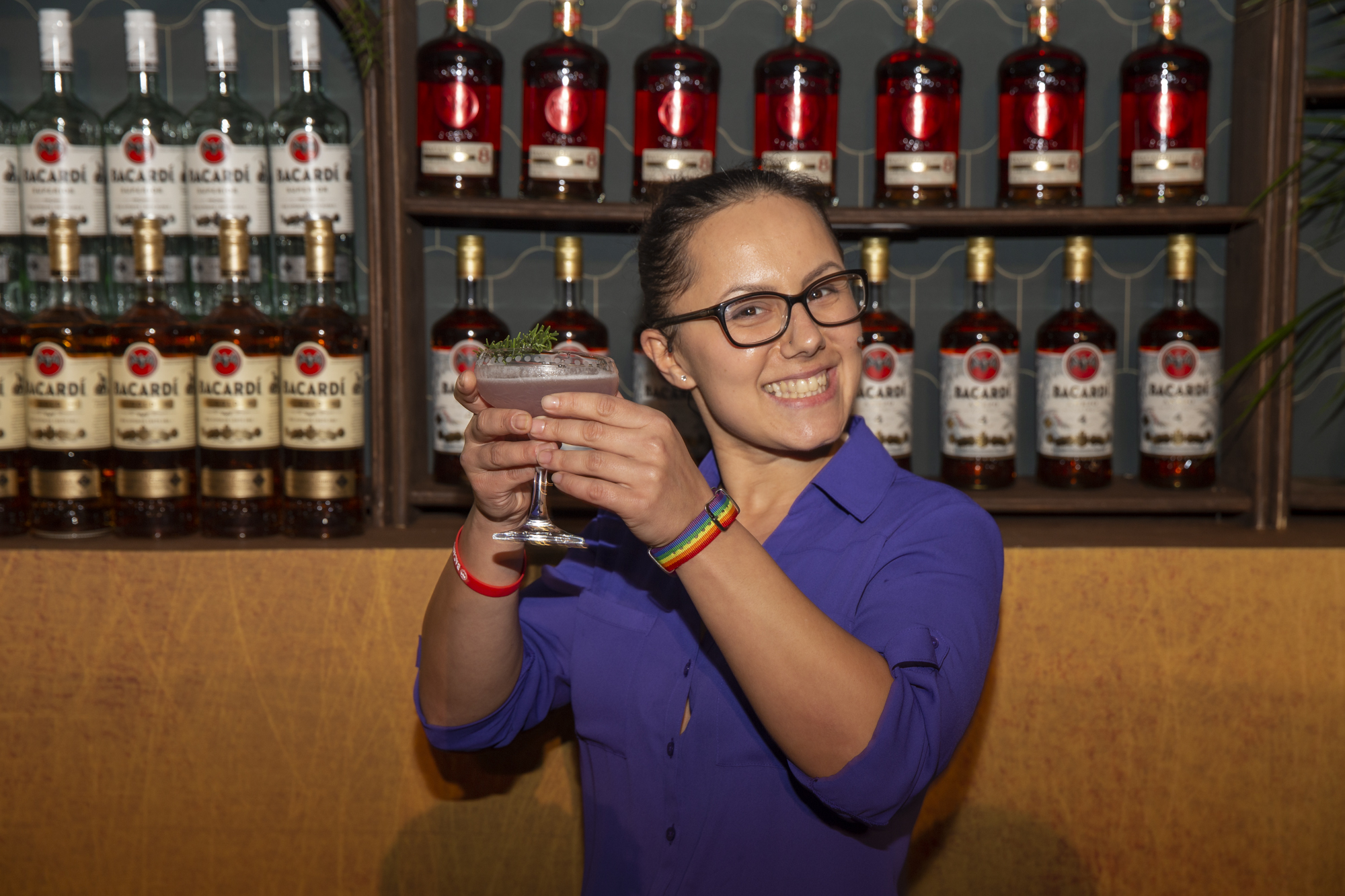 Carnival Cruise Line Mixologist Sanja Cvijetic Named 'Bartender of the Year' at the 2019 Bacardí Cruise Competition