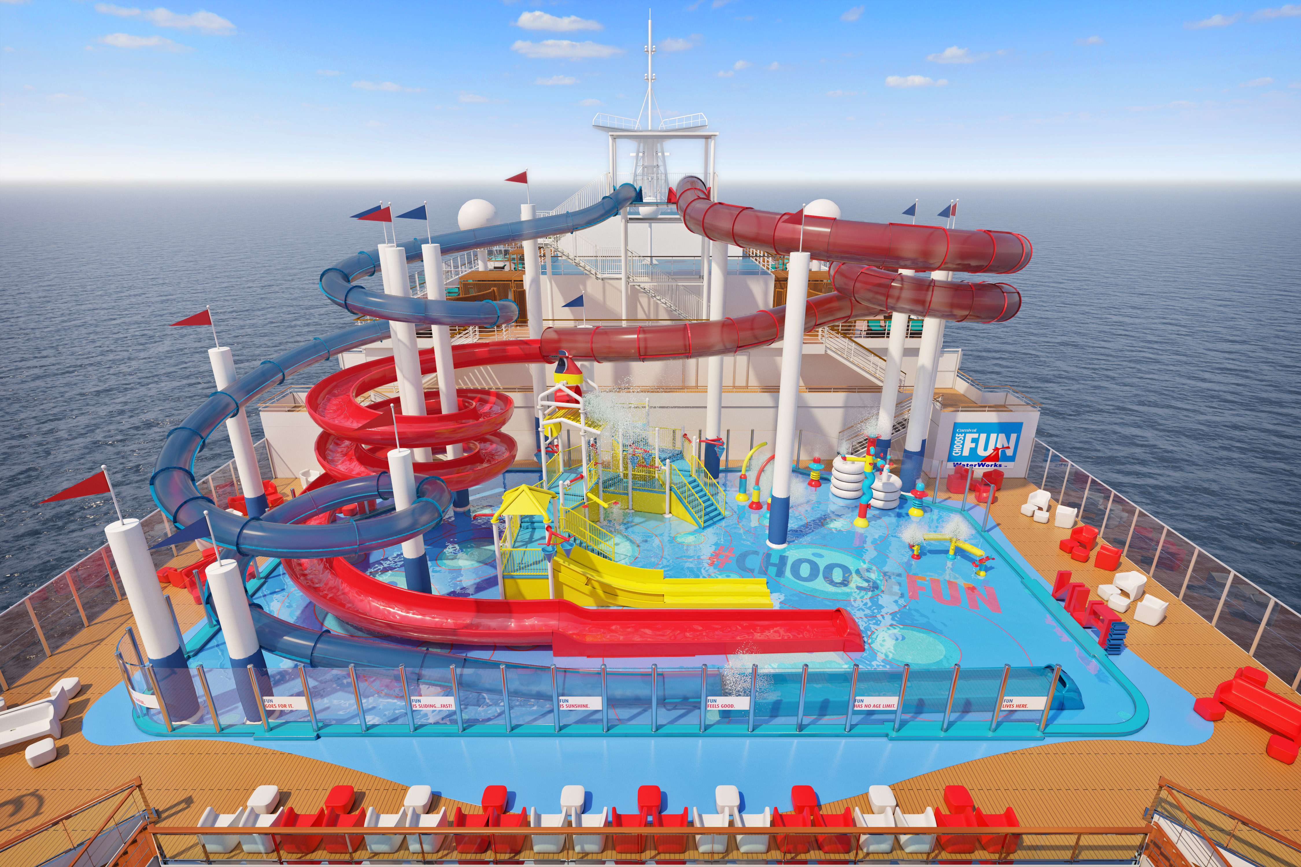 Carnival's Chief Fun Officer Shaquille O'Neal Reveals Plans for Shaq-tastic Choose Fun-Themed Water Park Aboard New Carnival Panorama
