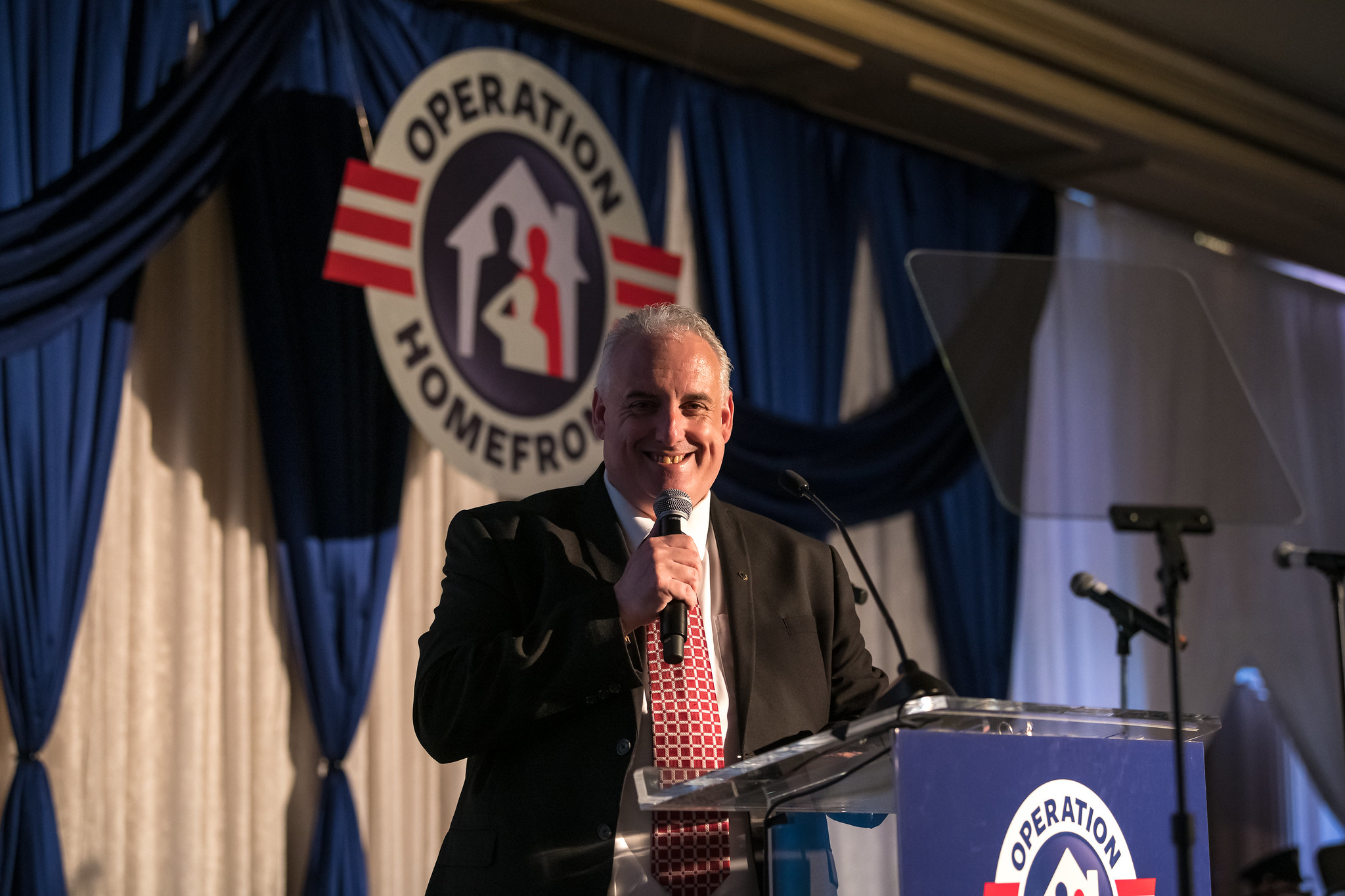 Carnival Brand Ambassador John Heald Emcees Operation Homefront's Annual 'Military Child of the Year' Awards