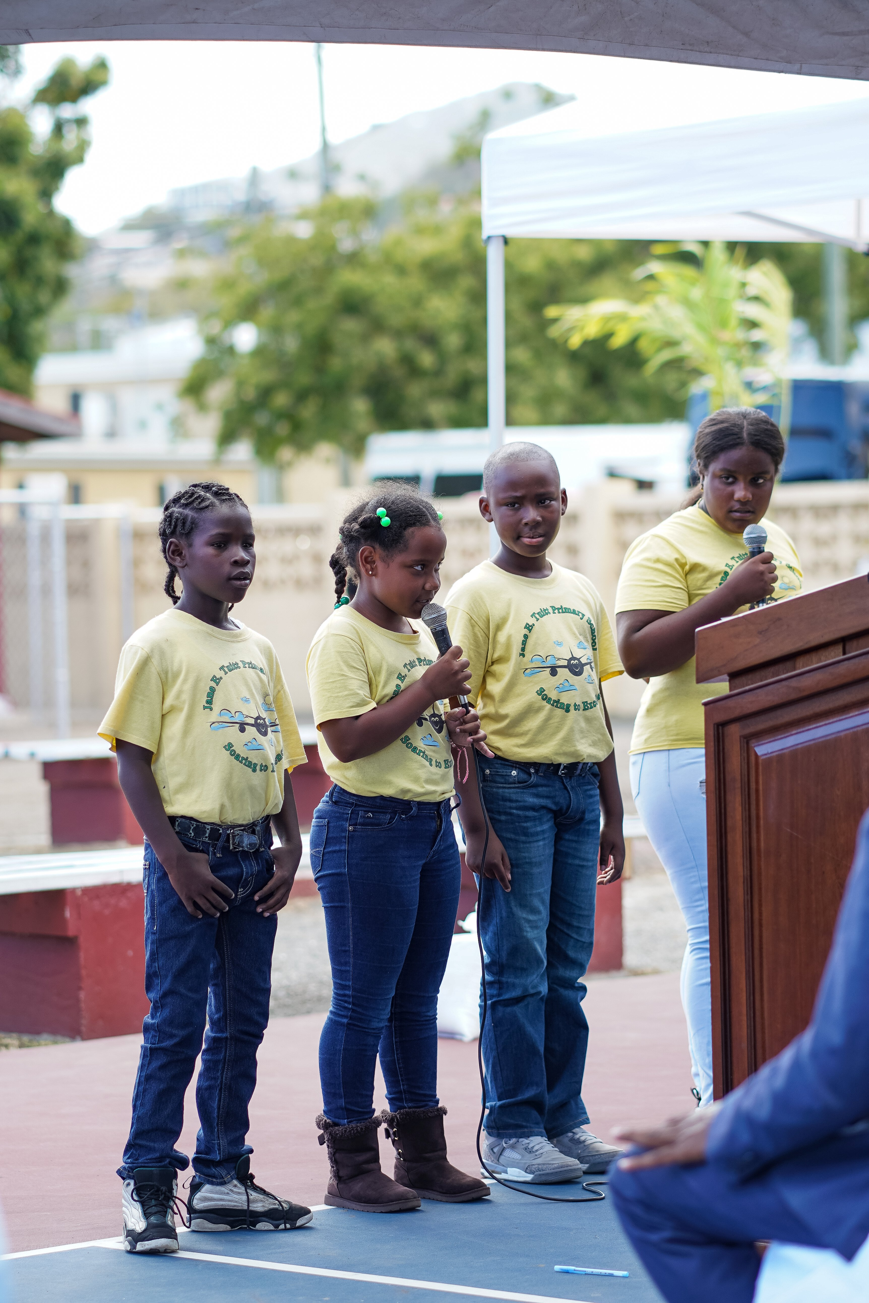 """Carnival Cruise Line and the Community Foundation of the Virgin Islands Unveil Revitalized Griffith Park in St. Thomas with """"Afternoon of Play"""" for Local Children"""