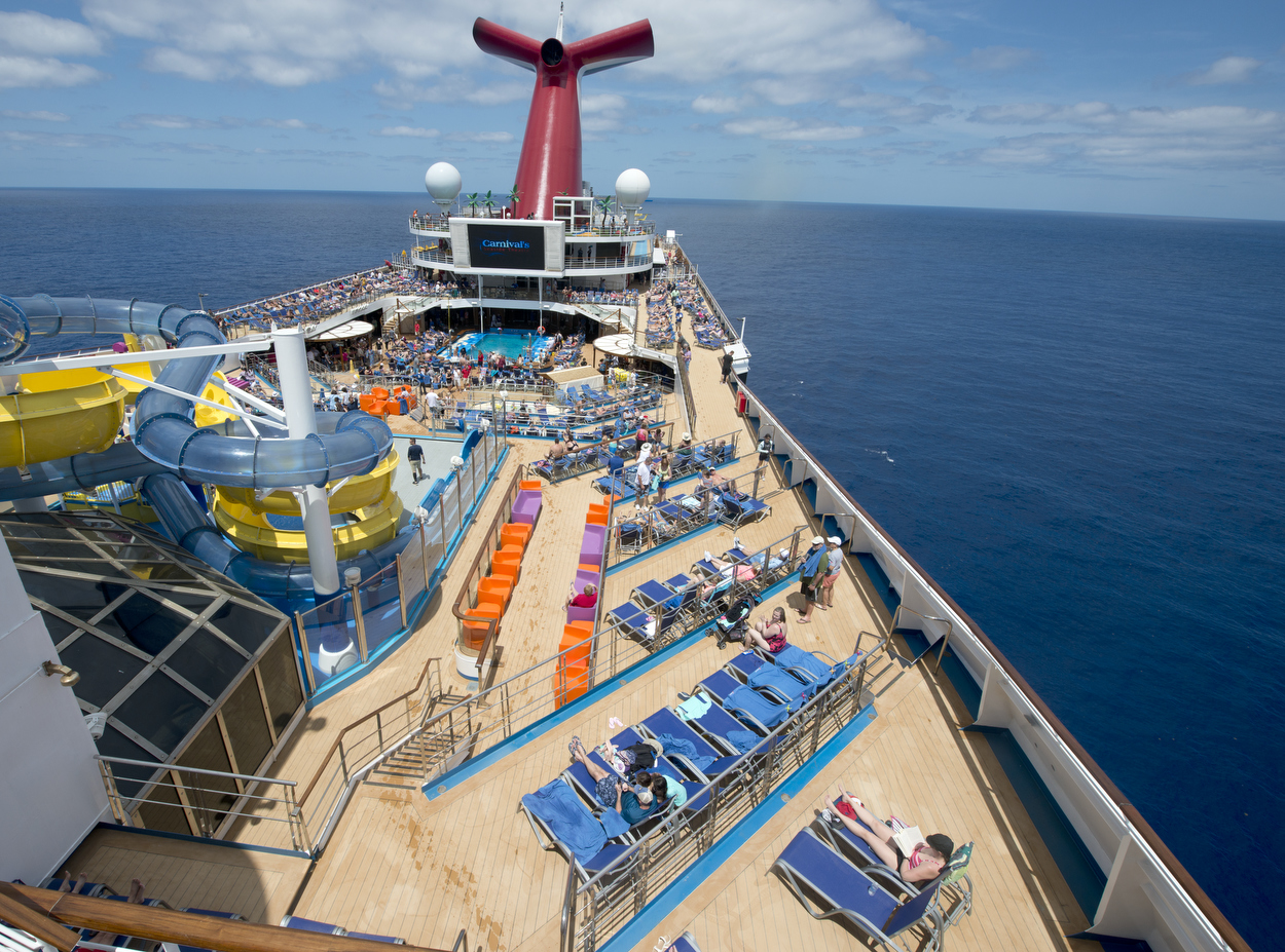Carnival Sunrise Visits Grand Turk as Part of Inaugural Voyage from Norfolk