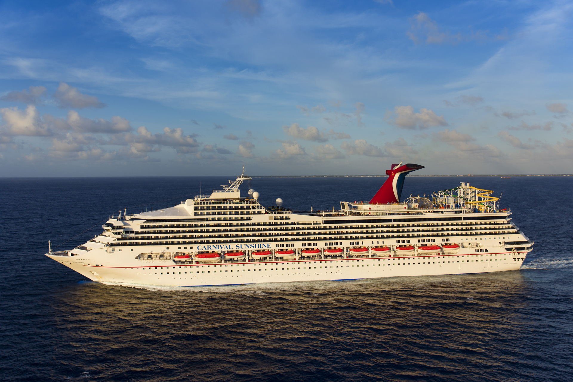Carnival Sunshine Kicks Off New Year-Round Cruise Program from Port of Charleston