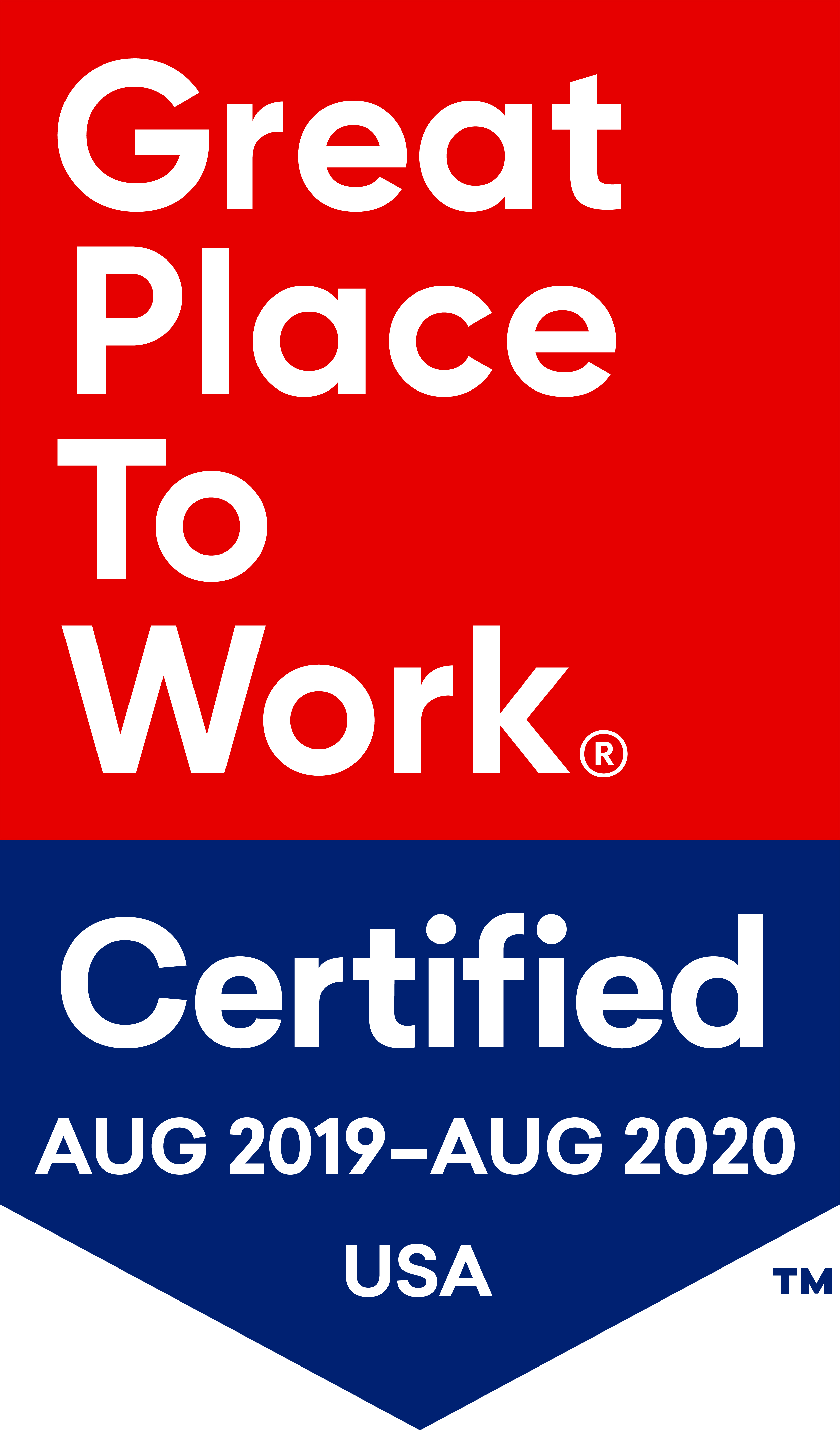 Carnival Cruise Line Earns Designation as a Great Place to Work-Certified™ Company
