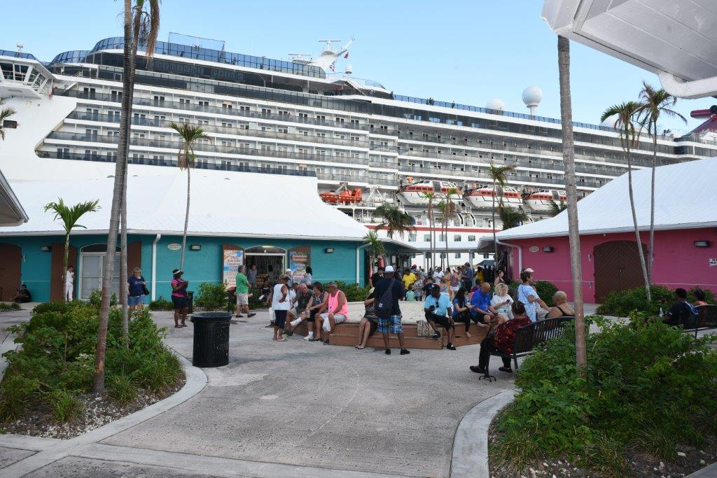 Carnival Pride Marks Carnival Cruise Line's Return to Grand Bahama
