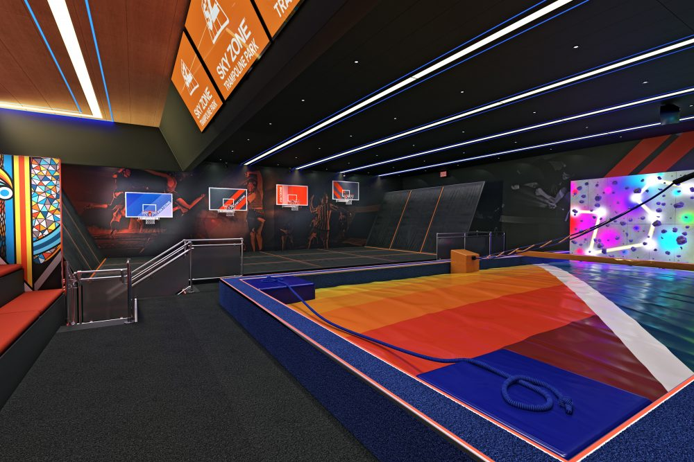 Carnival Reveals Programming for First Sky Zone Indoor Trampoline Park At Sea Aboard Carnival Panorama