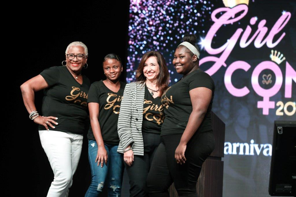 Carnival Cruise Line President Christine Duffy Visits Grand Bahama, Tours Development Site and Keynotes GirlCON Conference