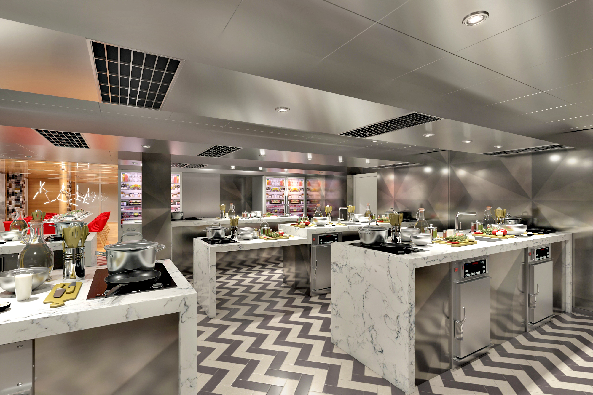 It's Time to Have Some 'Fun with Cooking'! First-in-Fleet Culinary Studio, 'Carnival Kitchen,' to Debut on Carnival Panorama