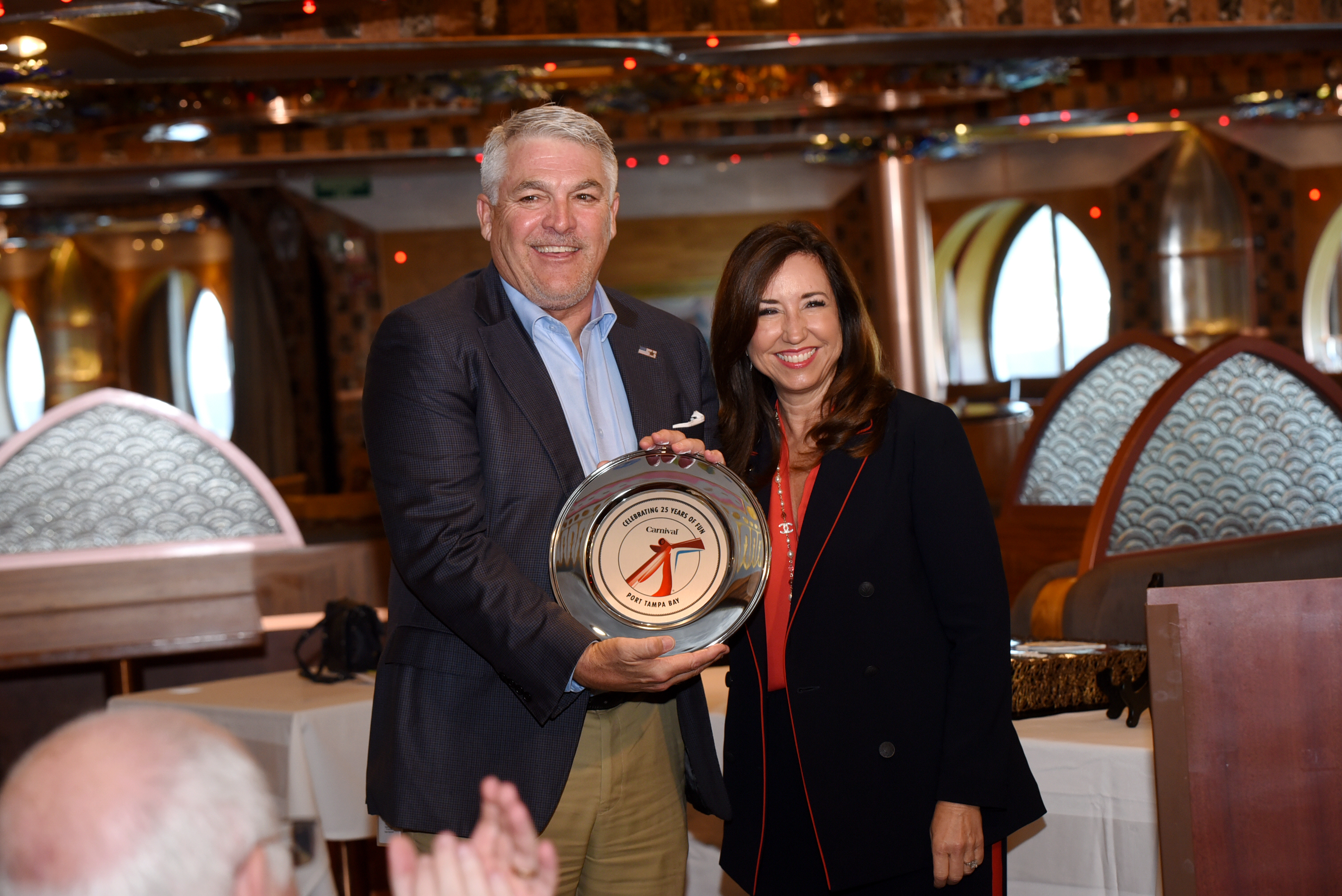 Carnival Cruise Line Celebrates 25 Years of Sailing from Tampa