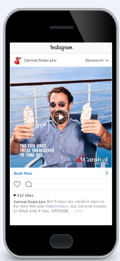 Americans Have Vacation Deficiency. Carnival Cruise Line Has the Solution.